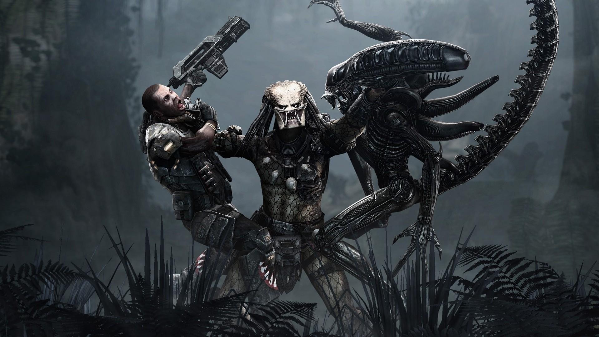 Hình nền : 1920x1080 px, Alien vs Predator, Người ngoài hành tinh, Phim  người nước ngoài, Tác phẩm nghệ thuật, Chiến đấu, Nghệ thuật tưởng tượng,  Súng, ...
