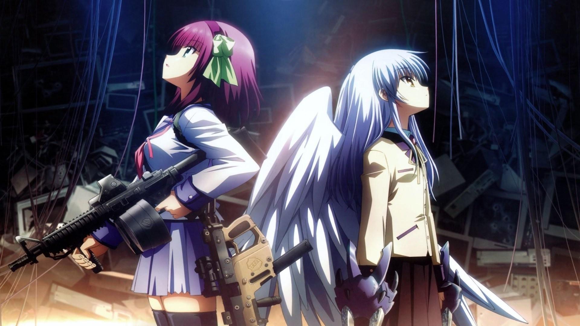 Wallpaper 1920x1080 Px Angel Beats Anime Nakamura Yuri