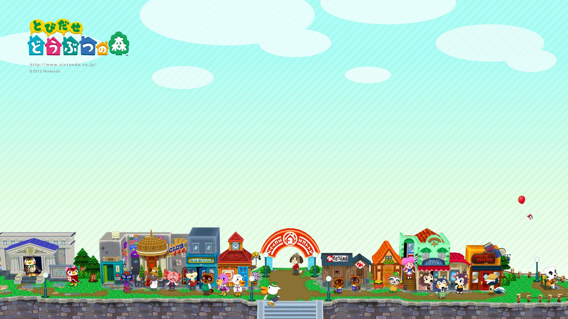 Wallpaper 1920x1080 Px Animal Crossing 1920x1080