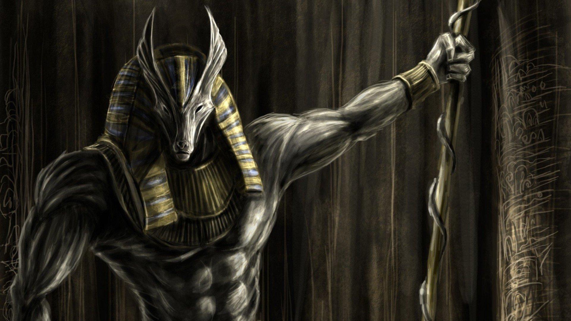 Papel De Parede 1920x1080 Px Playerunknowns: Papel De Parede : 1920x1080 Px, Anubis, Deuses Do Egito