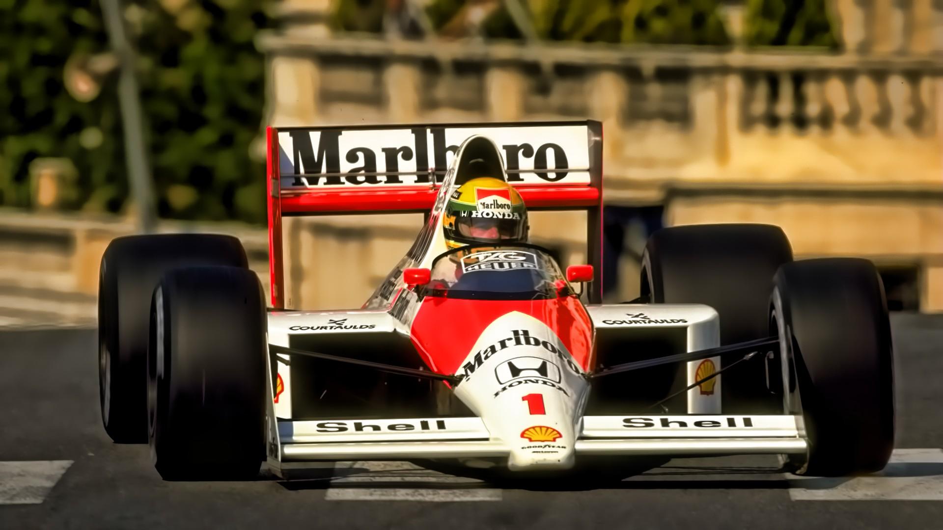 Wallpaper 1920x1080 Px Ayrton Senna Formula 1 Marlboro