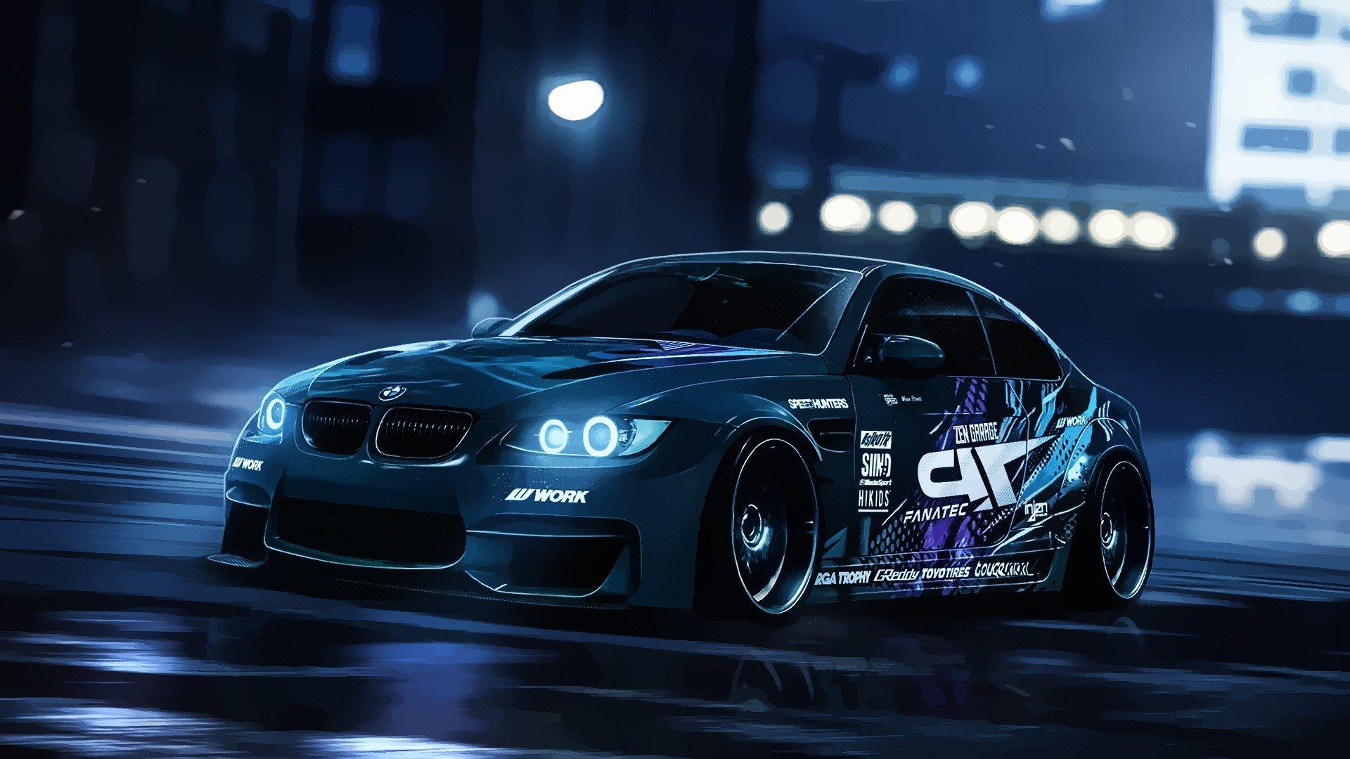 Wallpaper : 1920x1080 px, BMW E92 M3, car, vector ...