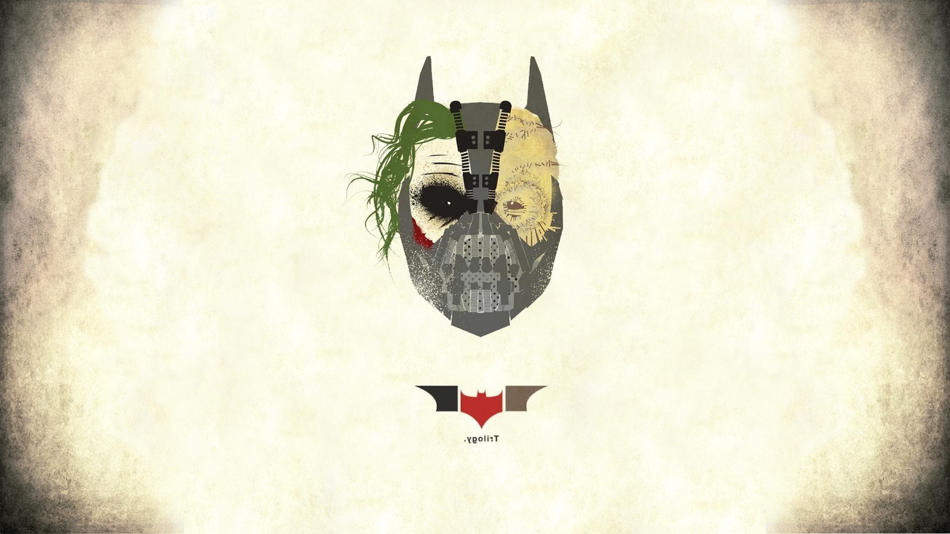 Wallpaper 1920x1080 Px Bane Batman Logo Mask The Dark Knight