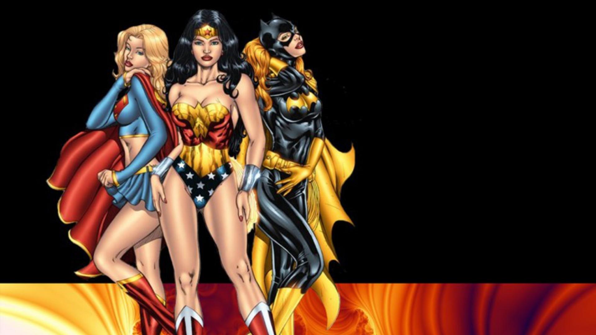 Wallpaper 1920x1080 Px Batgirl Comics Sexy Supergirl