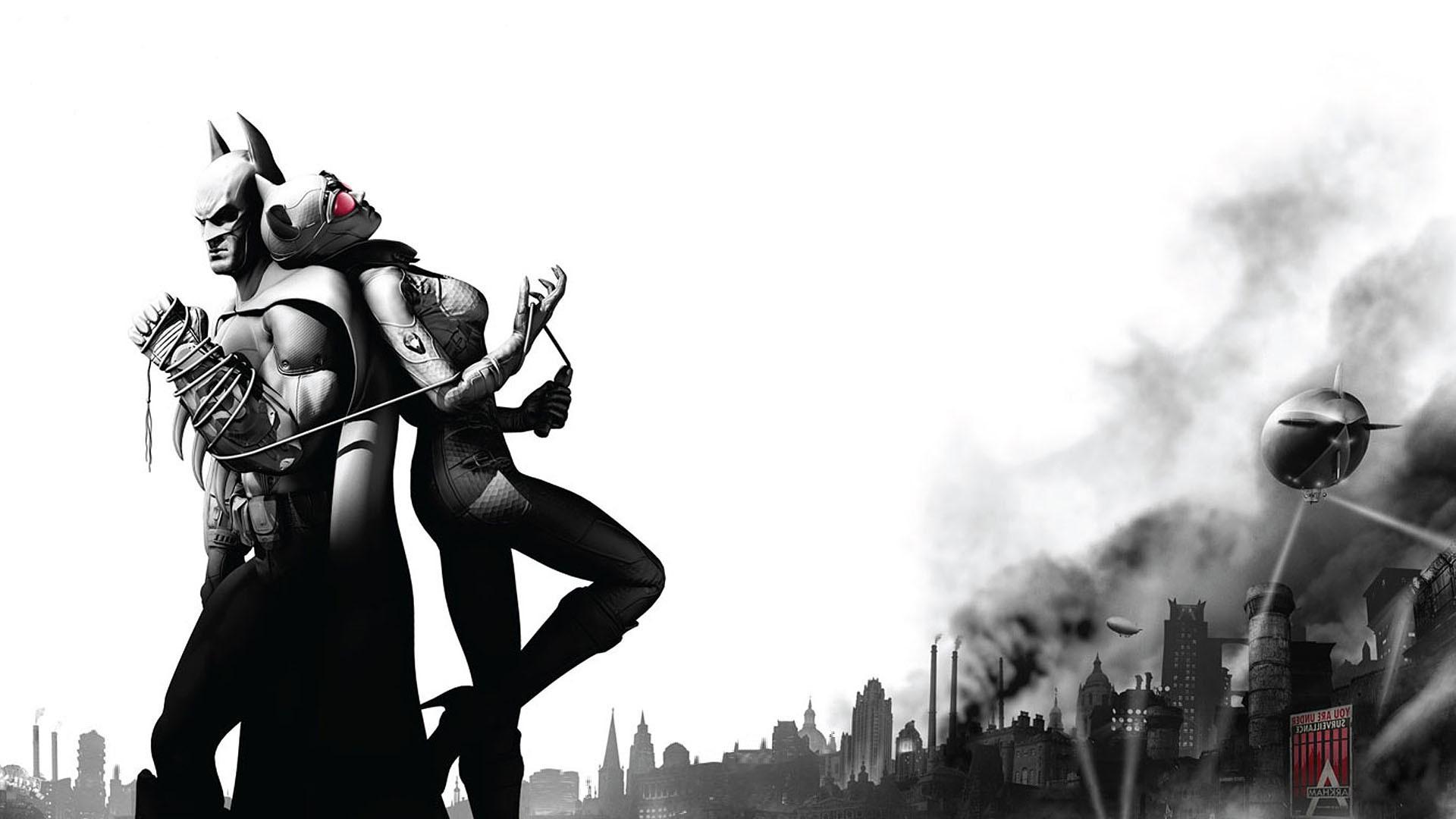 Wallpaper 1920x1080 Px Batman Arkham City Catwoman 1920x1080