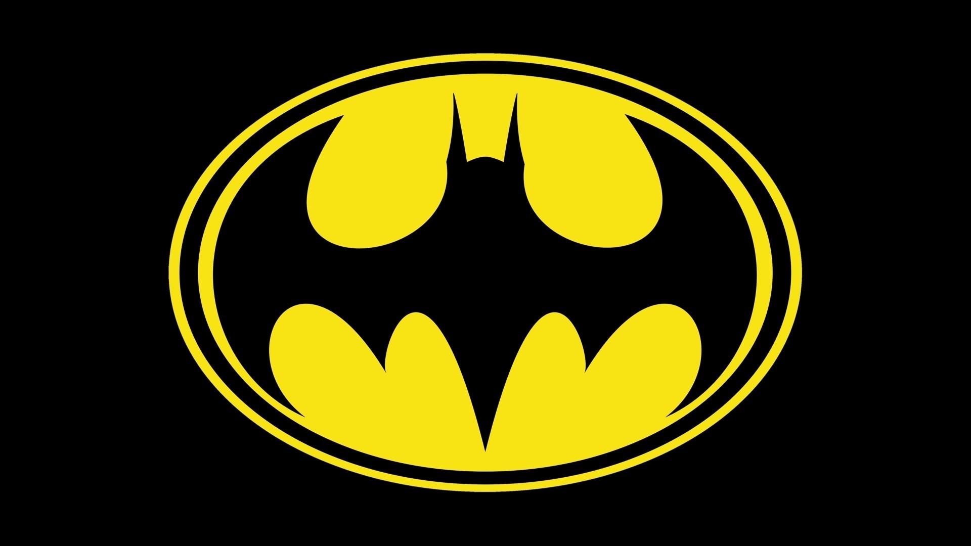 Wallpaper 1920x1080 Px Batman Logo Black 1920x1080