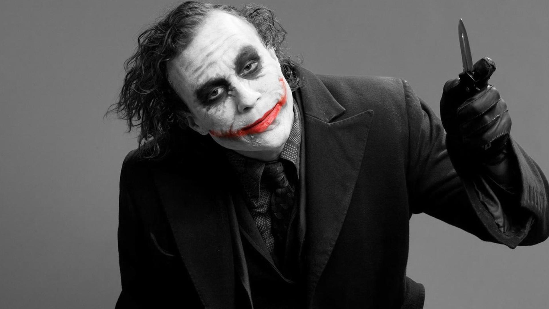 1920x1080 Px Batman Black And Red DC Comics Heath Ledger Joker Photography