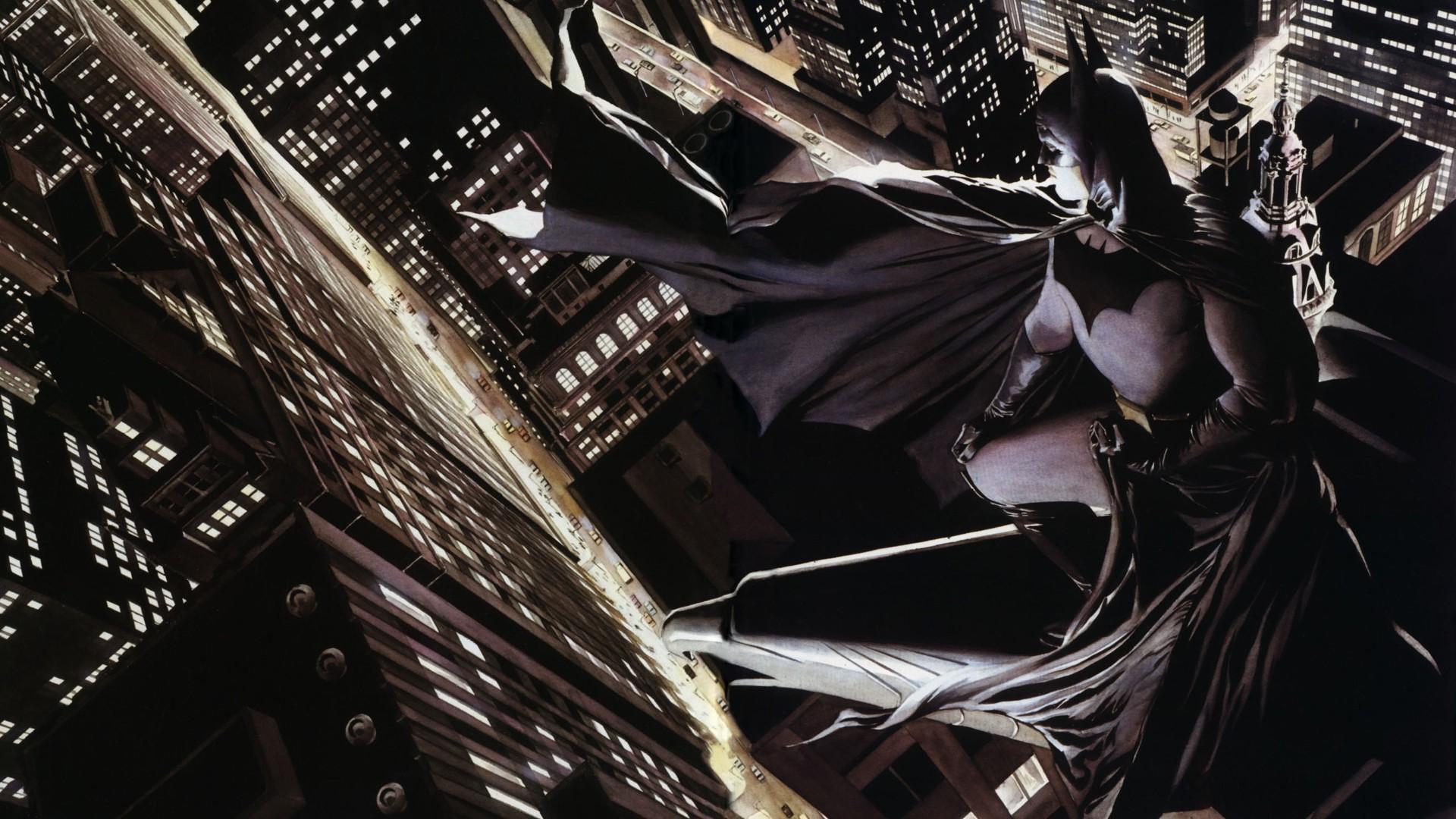 The top 10 paintings of artist Alex Ross as chosen by Alex Ross Alex ross batman images