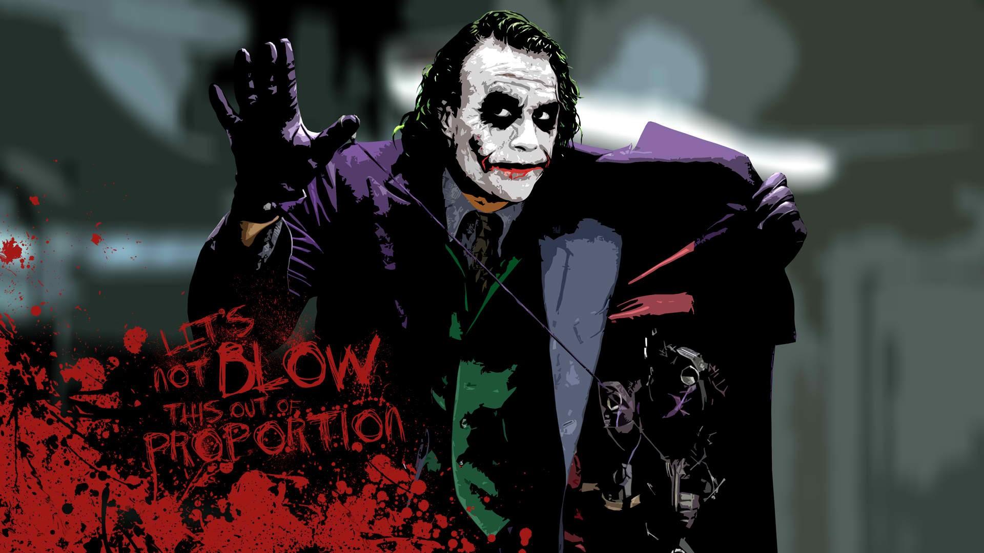 Dark Knight Joker 4k Wallpaper - 4k wallpaper
