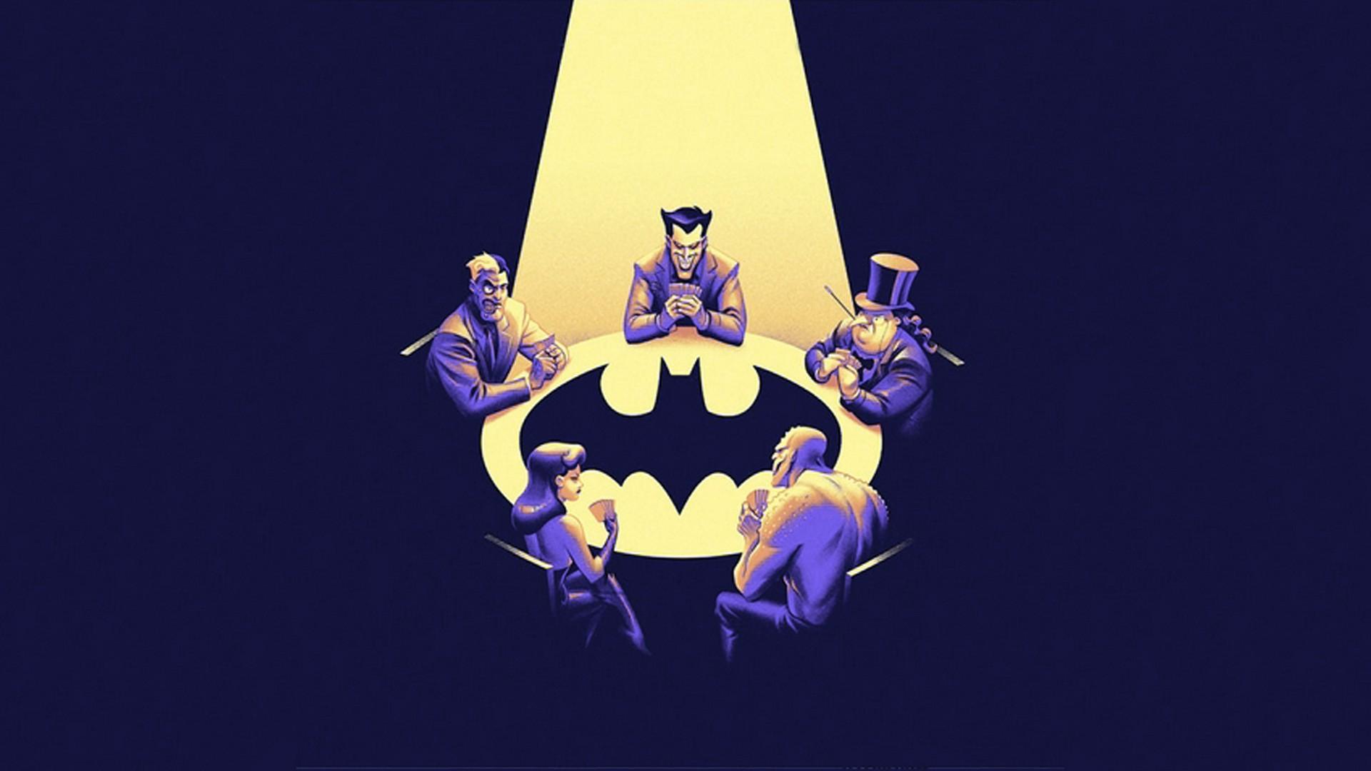 wallpaper : 1920x1080 px, batman, joker, killer croc, poison ivy