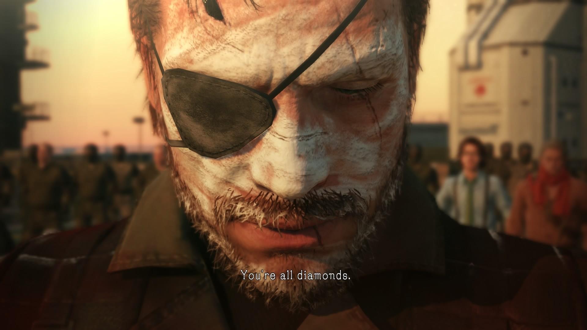 Wallpaper 1920x1080 Px Big Boss Metal Gear Solid V The