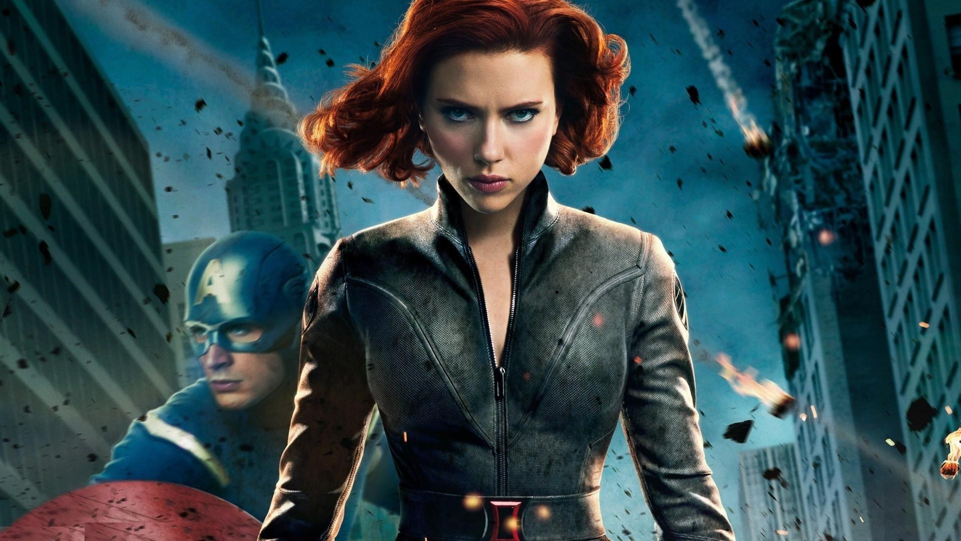Wallpaper 1920x1080 Px Black Widow Captain America Chris