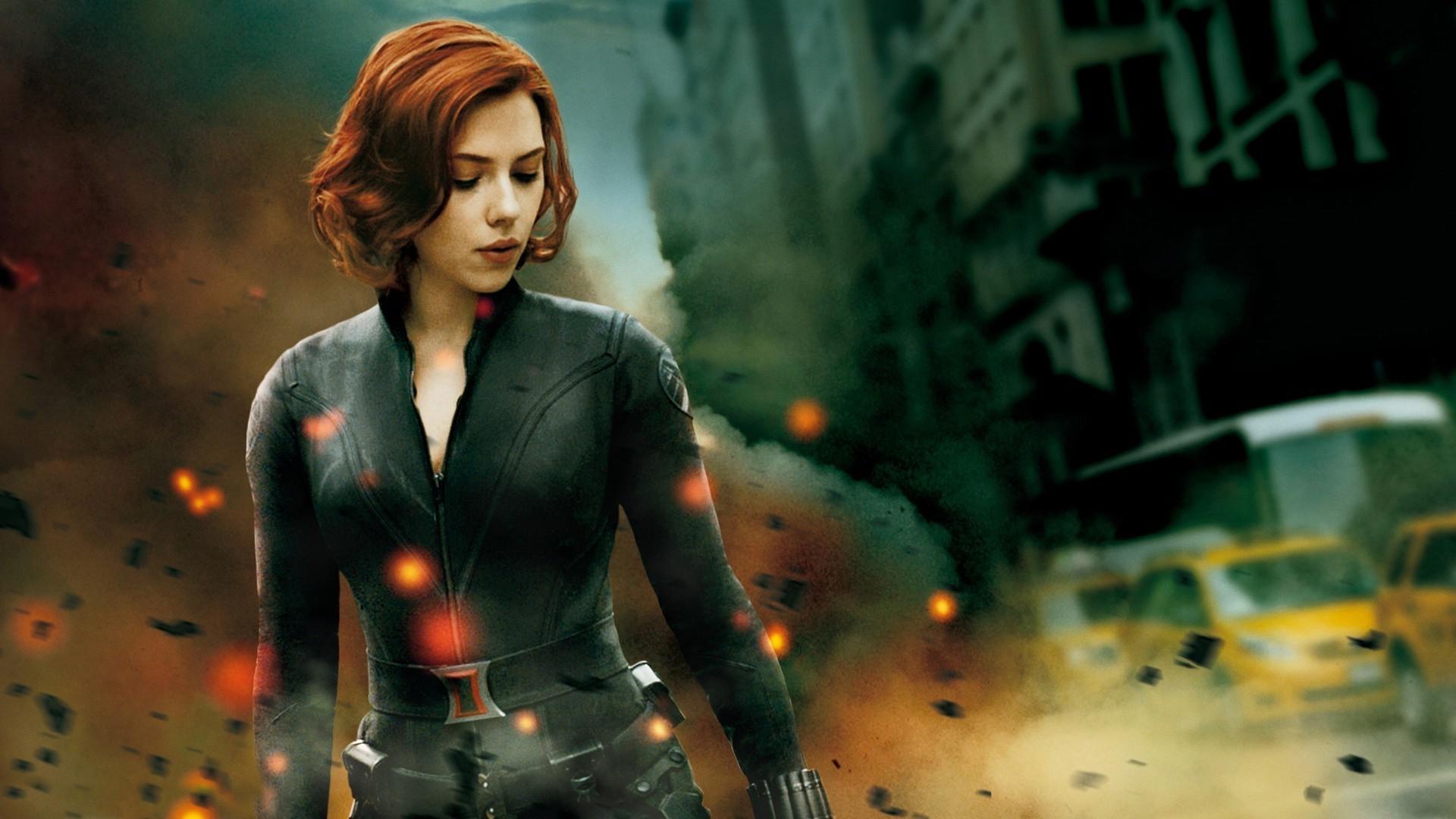 1920x1080 Px Black Widow Marvel Comics Scarlett Johansson Superheroines The Avengers