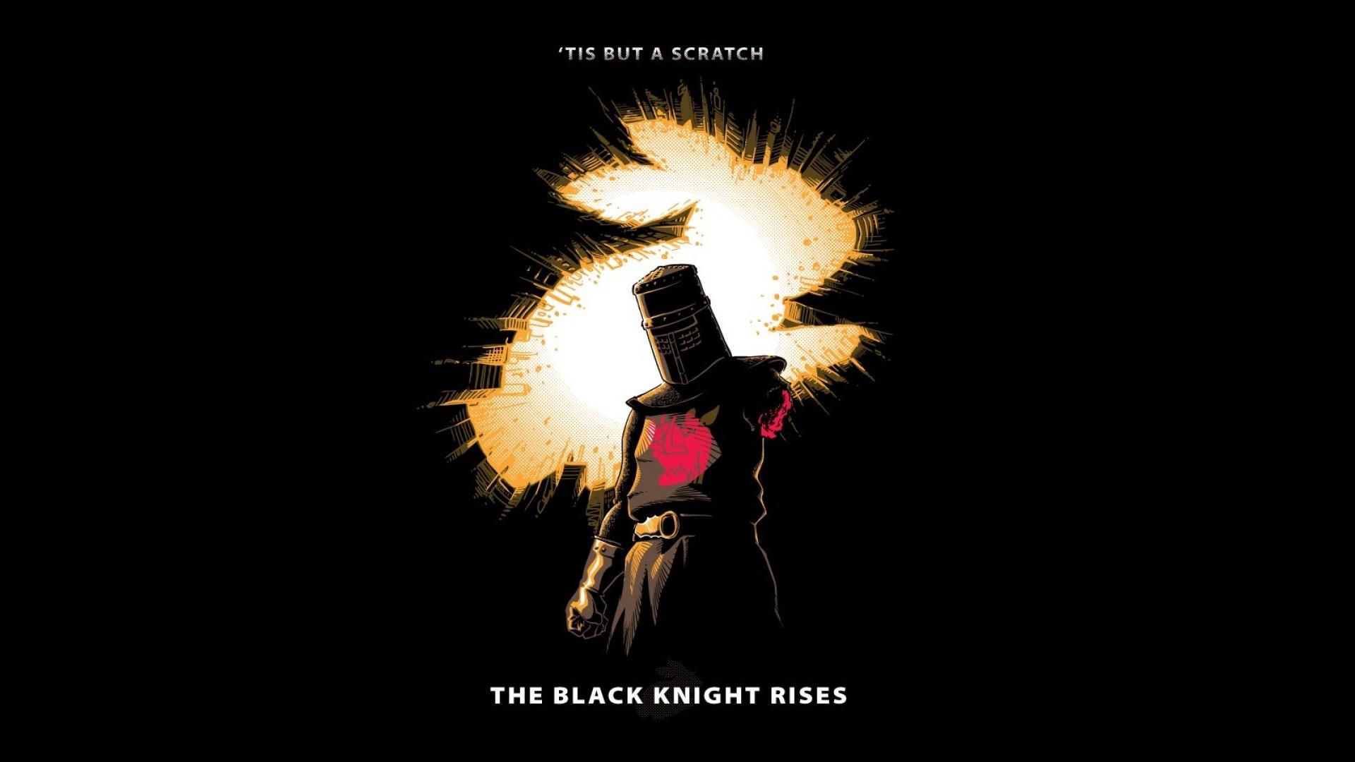 Wallpaper 1920x1080 Px Black Knight Drawing Knights