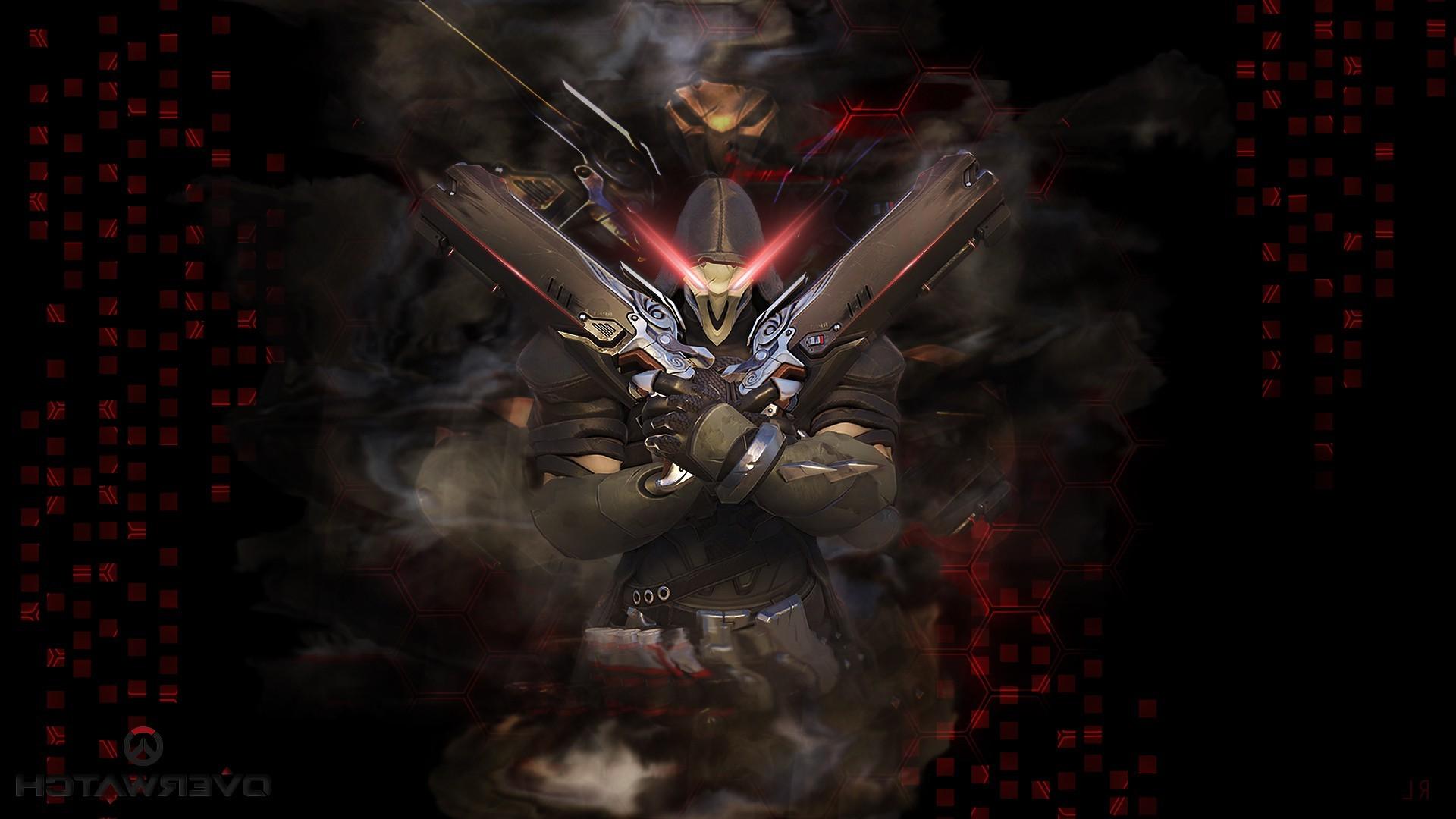 Wallpaper 1920x1080 Px Blizzard Entertainment Reaper Overwatch