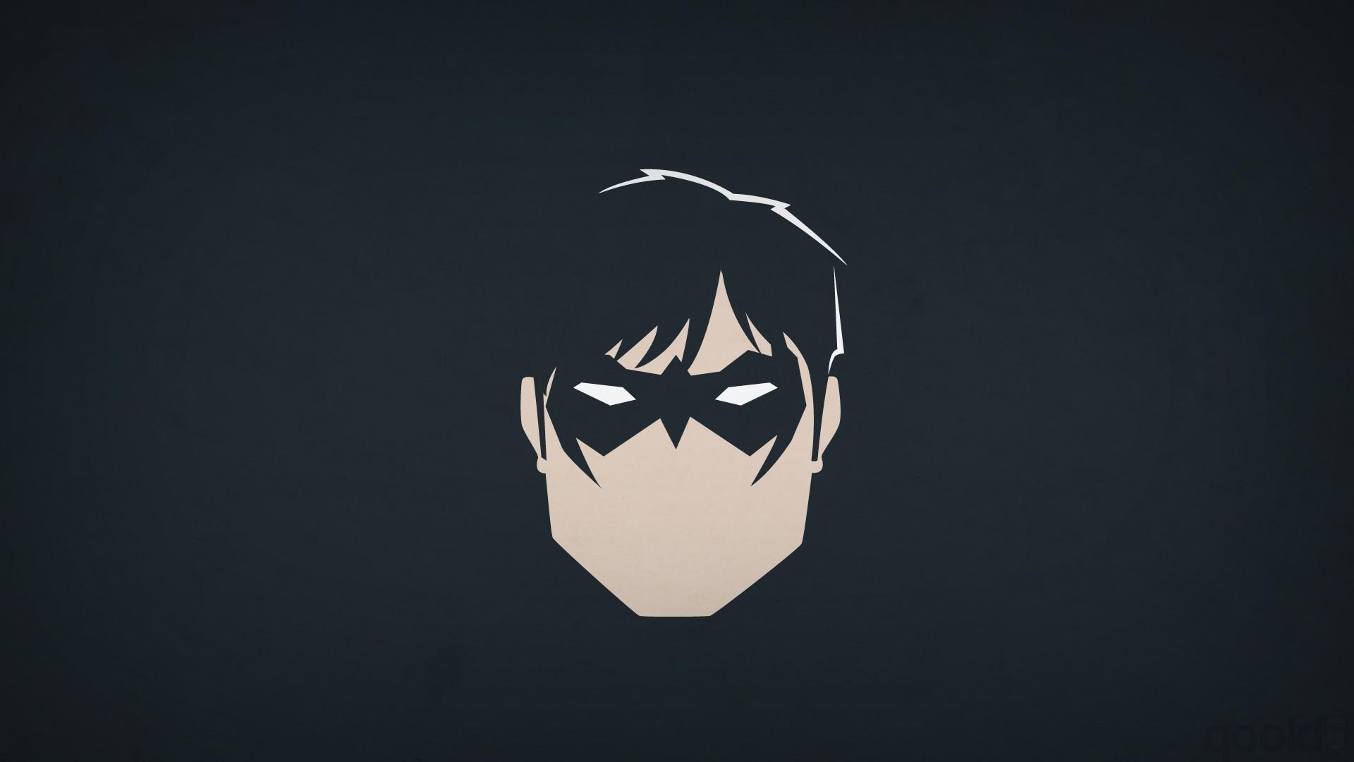 1920x1080 Px Blo0p DC Comics Heroes Minimalism Nightwing Superhero