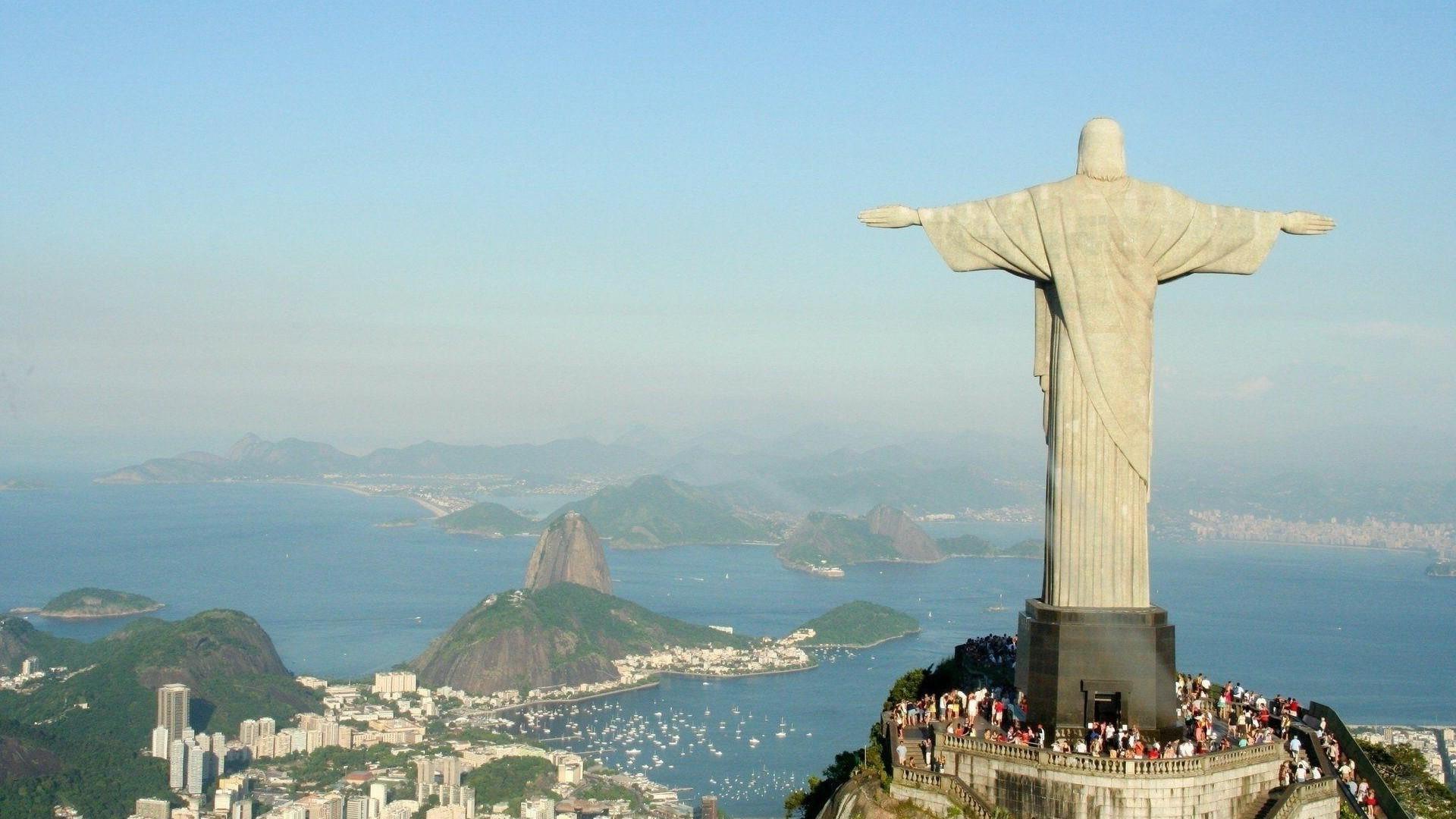 Walpaper Cristo Redendtor: Fondos De Pantalla : 1920x1080 Px, Brasil, Cristo El