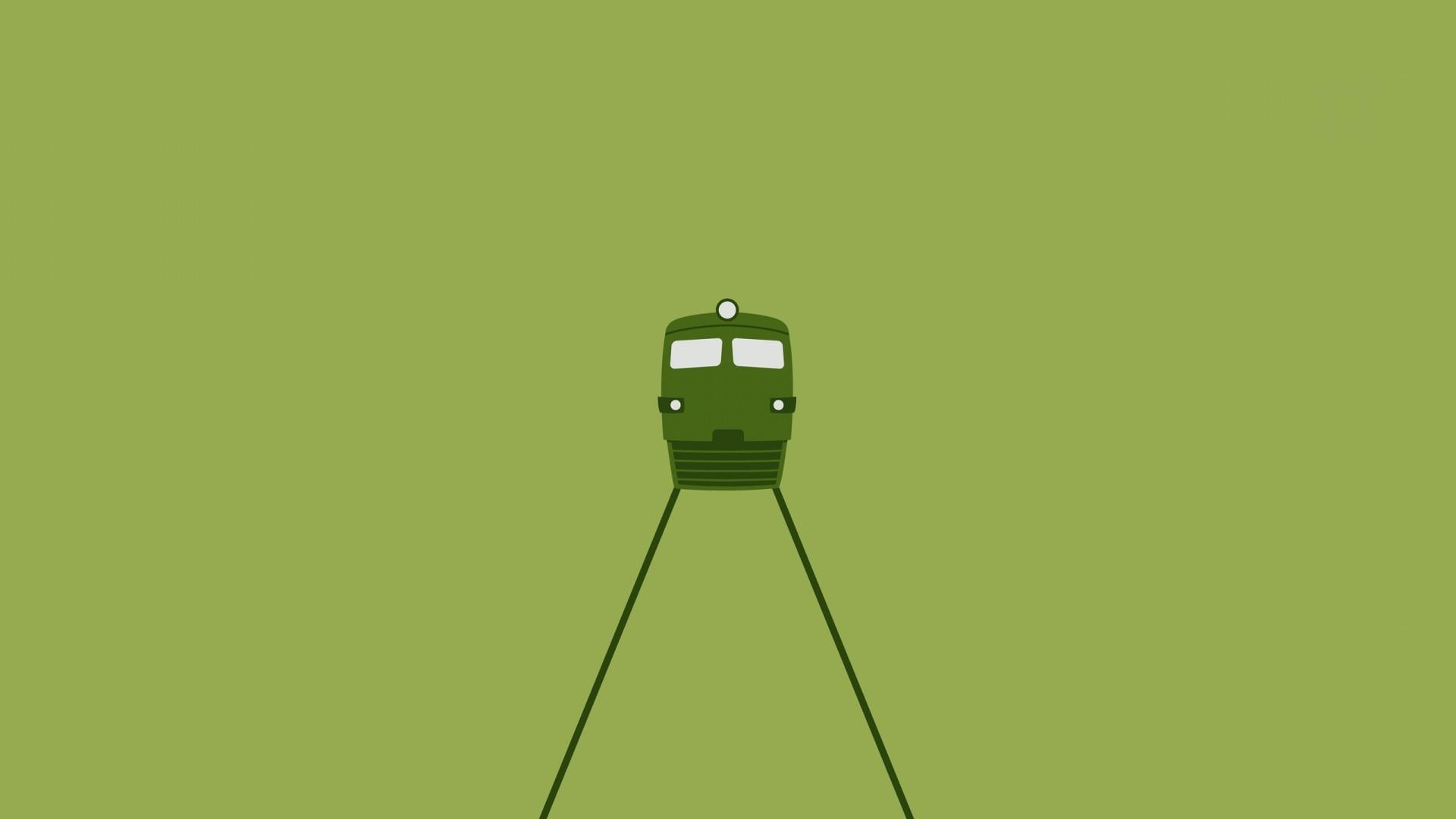 デスクトップ壁紙 19x1080 Px Cgi ディーゼル機関車 デジタルアート 緑色の背景 ライト 行 ミニマリズム 鉄道 単純な背景 列車 19x1080 Wallpaperup デスクトップ壁紙 Wallhere