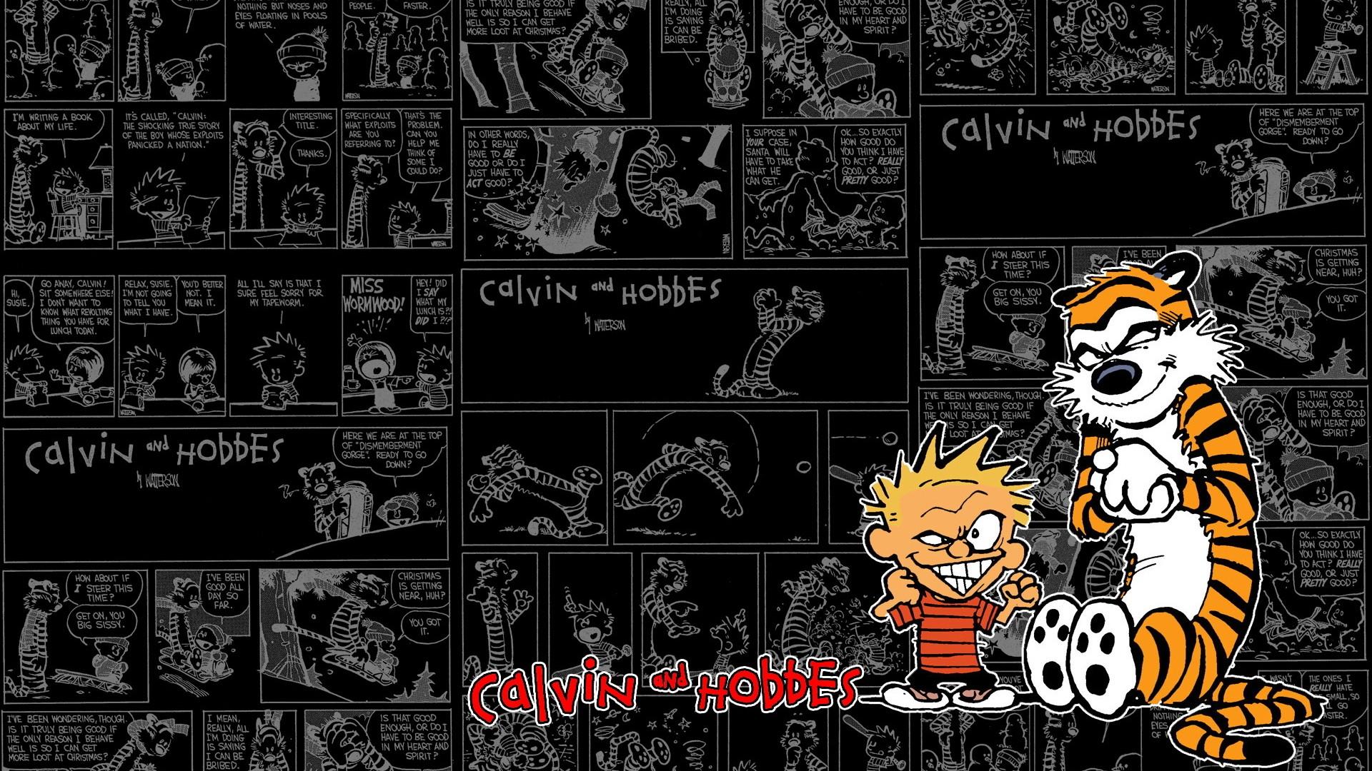Fondos De Pantalla 1920x1080 Px Calvin Y Hobbes