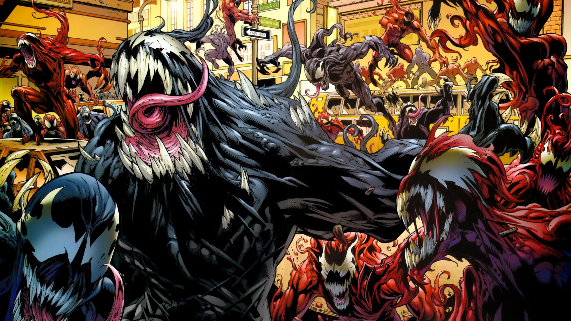 1920x1080 Px Carnage Comics Venom