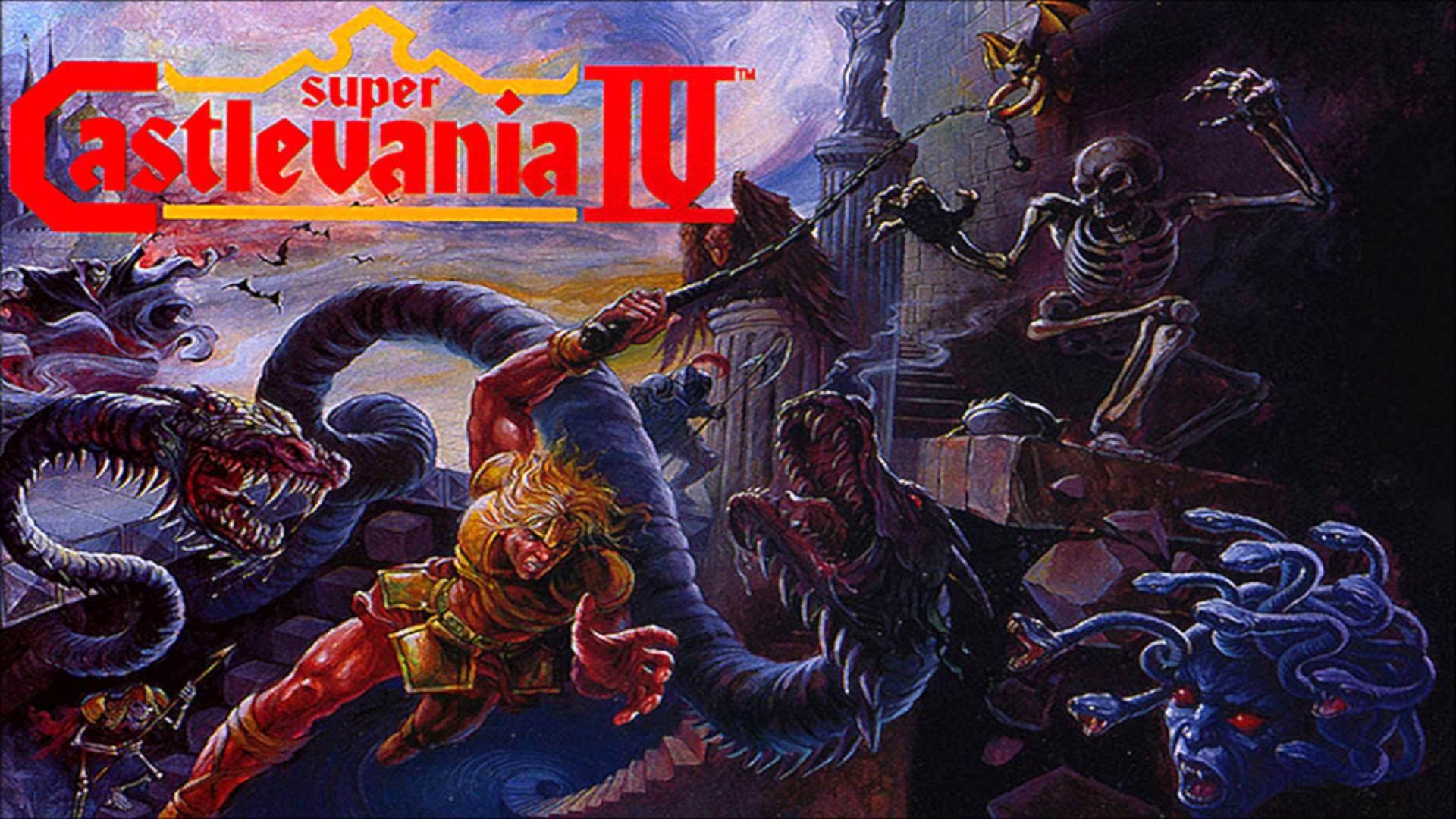 Wallpaper 1920x1080 Px Castlevania Super Castlevania Iv