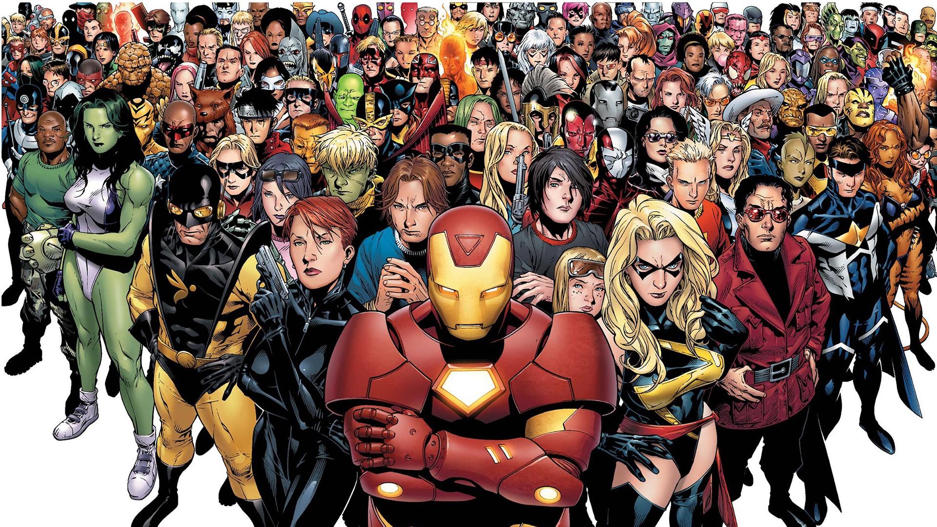 1920x1080 Px Civil War Comics Marvel