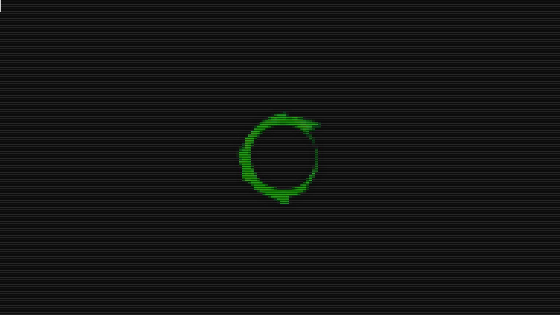 Wallpaper 1920x1080 Px Conslole Dzen Green Linux Pixel Art