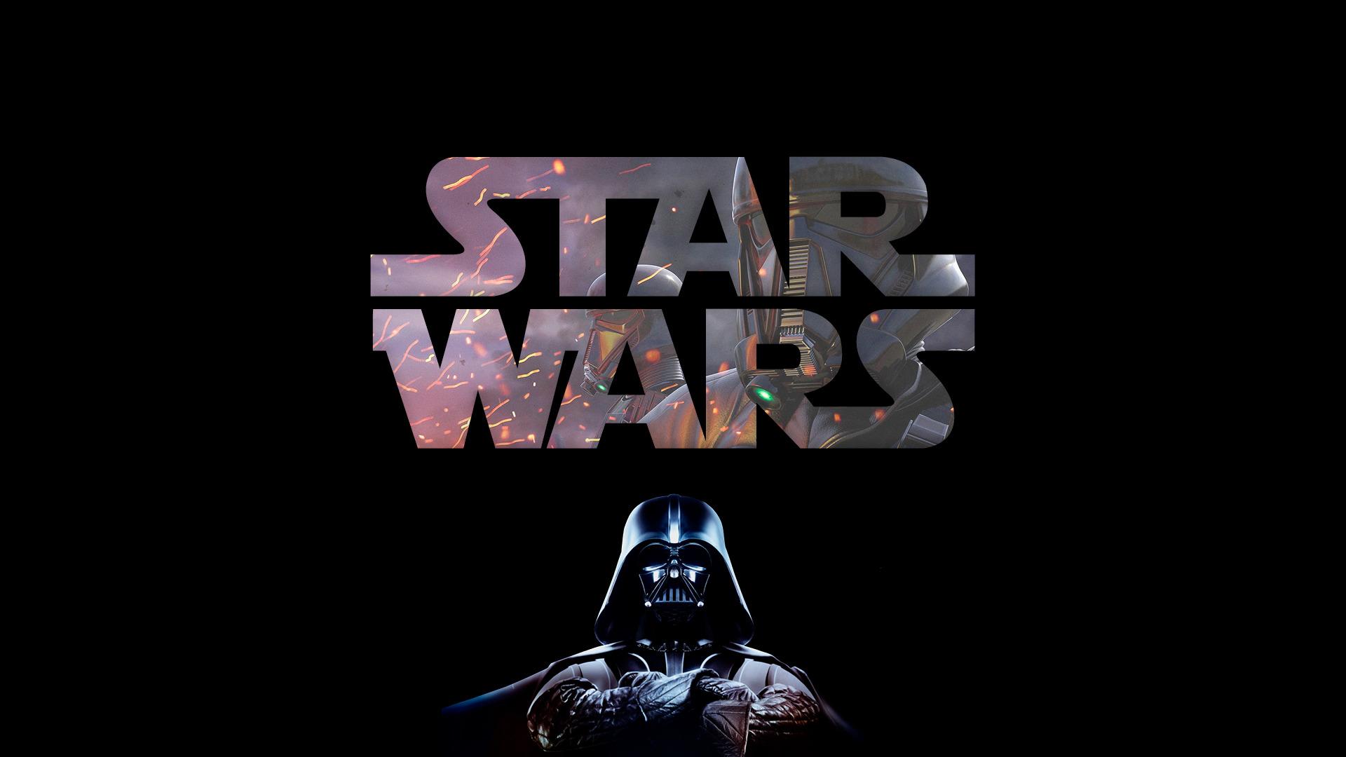 Wallpaper 1920x1080 Px Darth Vader Star Wars Typography 1920x1080 Wallpaperup 1261433 Hd Wallpapers Wallhere