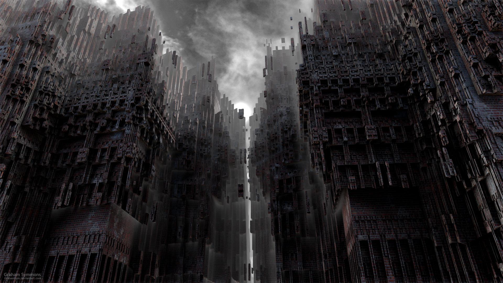1920x1080 px DeviantArt digital art Gothic
