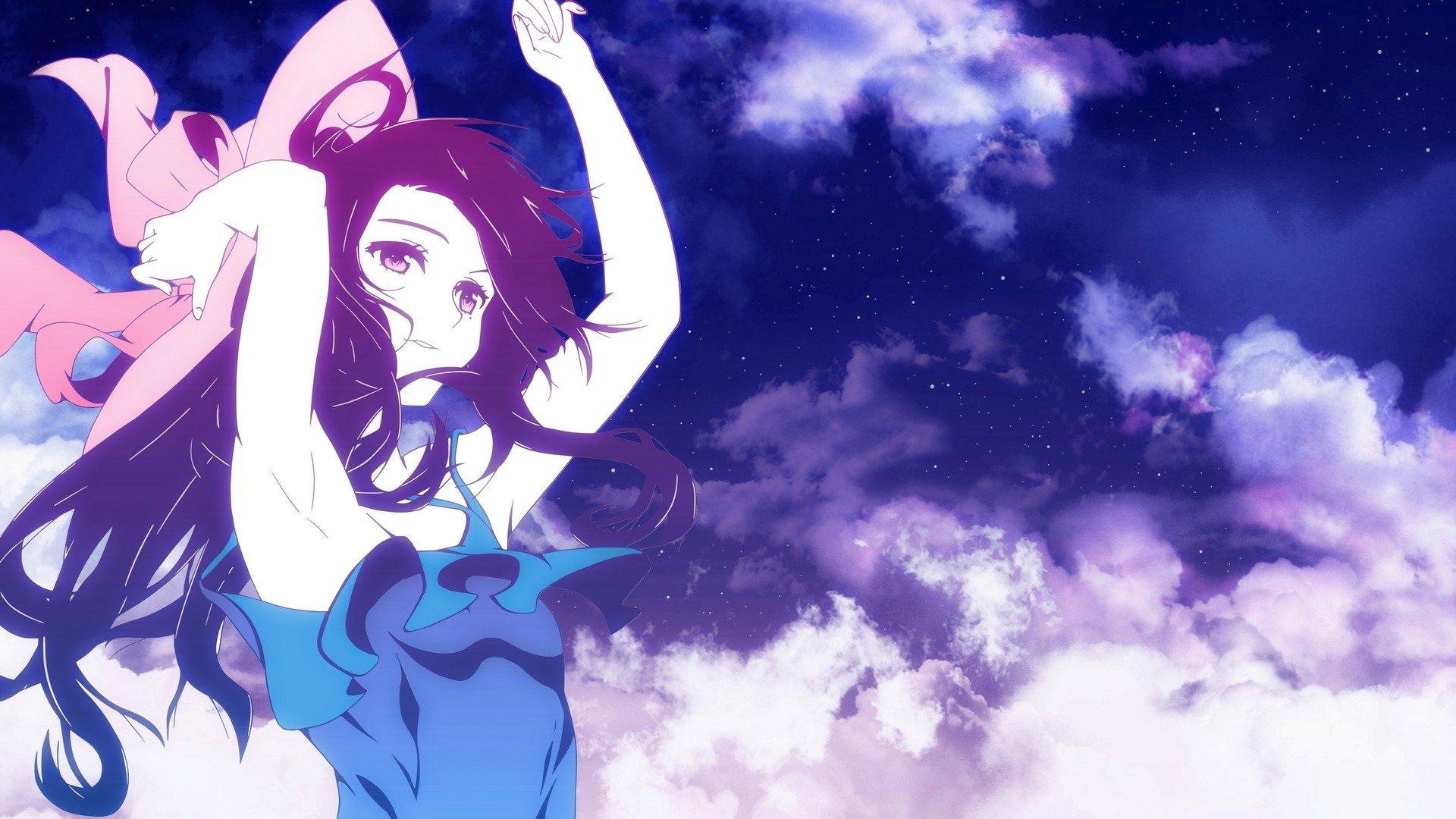 1920x1080 px digital anime art haruka