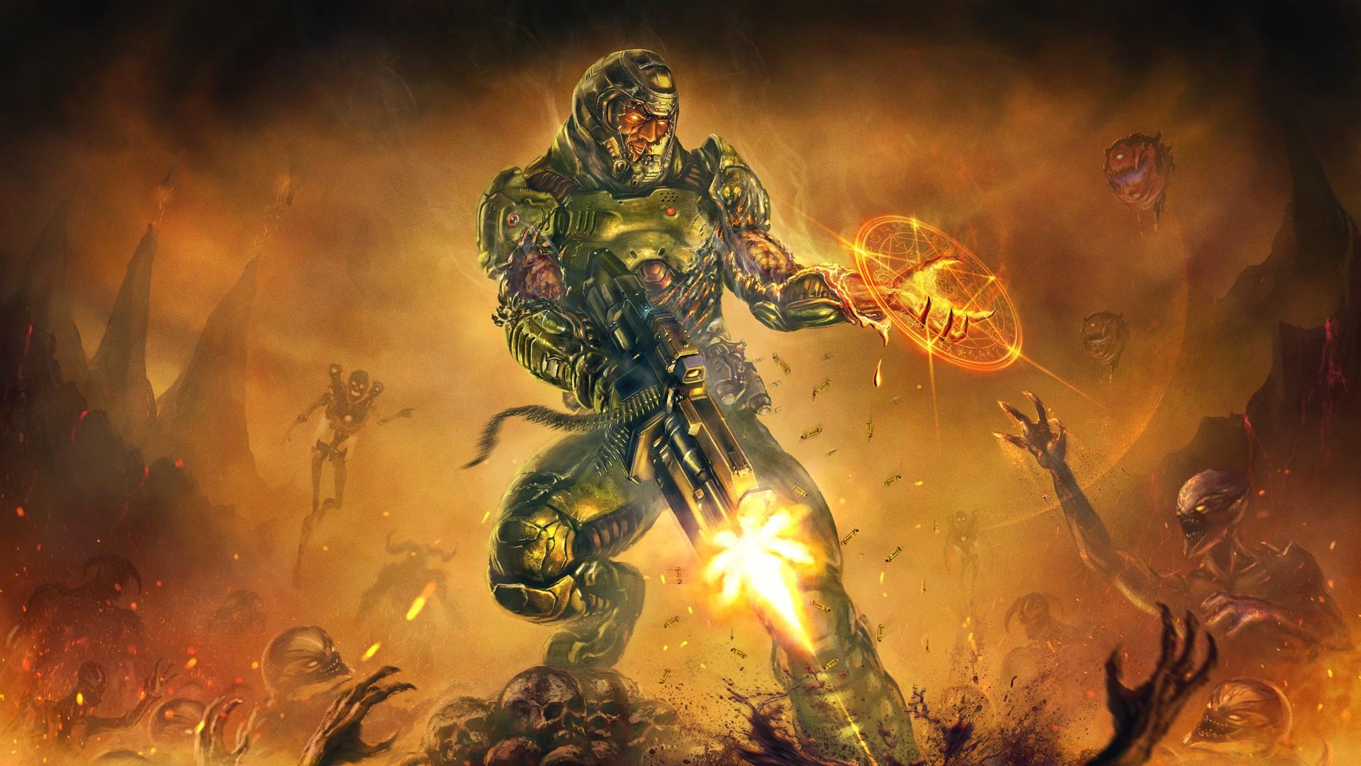 Fondos De Pantalla 1920x1080 Px Doom Juego Doom 4