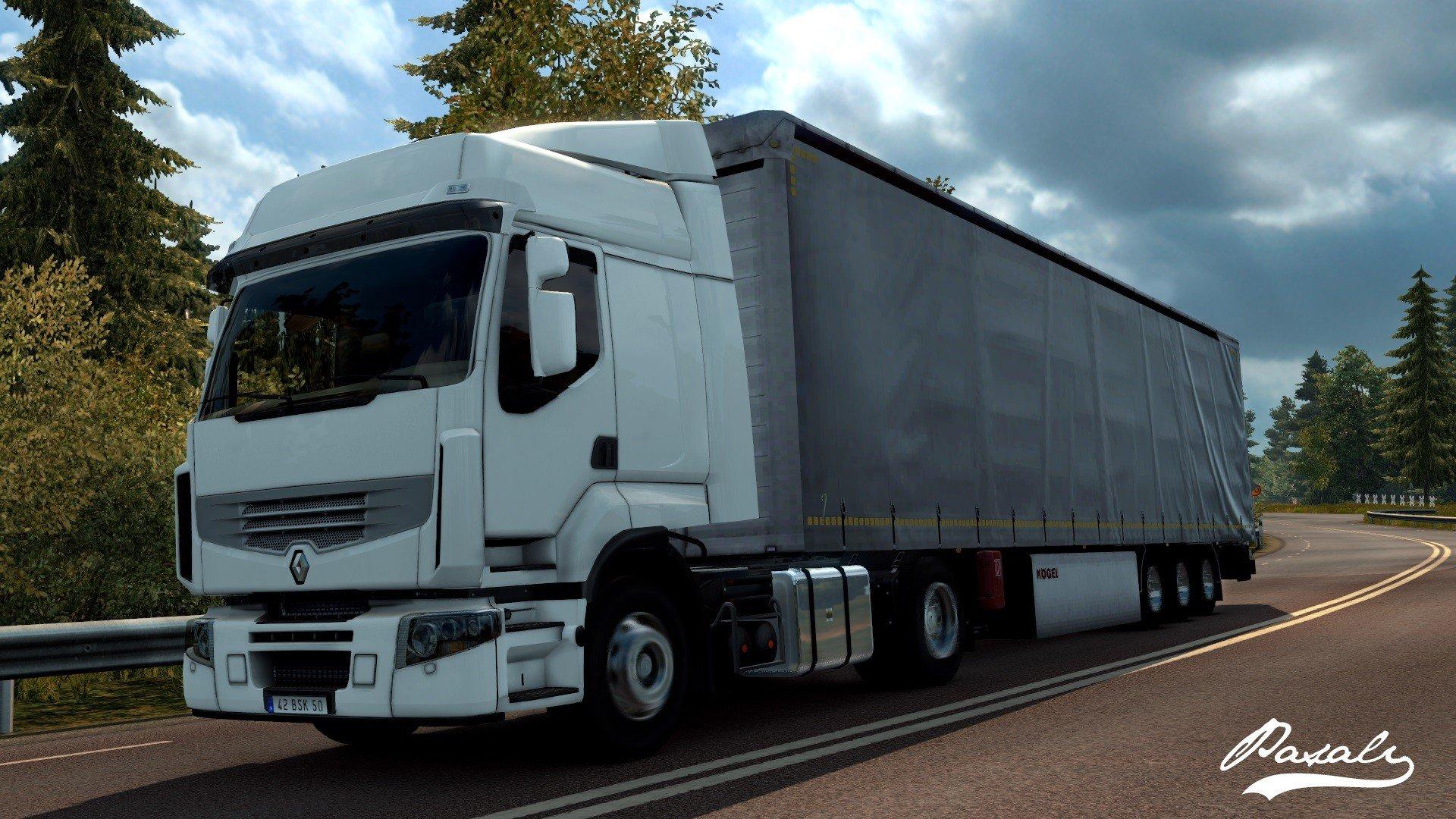 1920x1080 Px Euro Truck Simulator 2 Scania Volvo FH16
