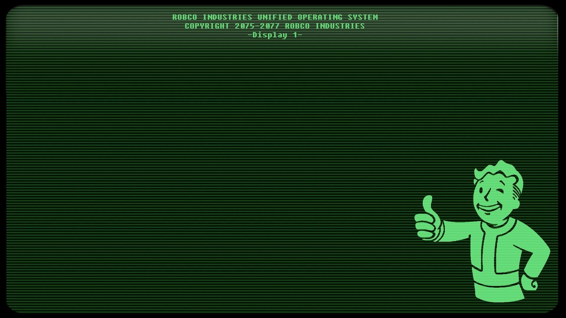 Wallpaper 1920x1080 Px Fallout 3 Lines Pip Boy Video Games