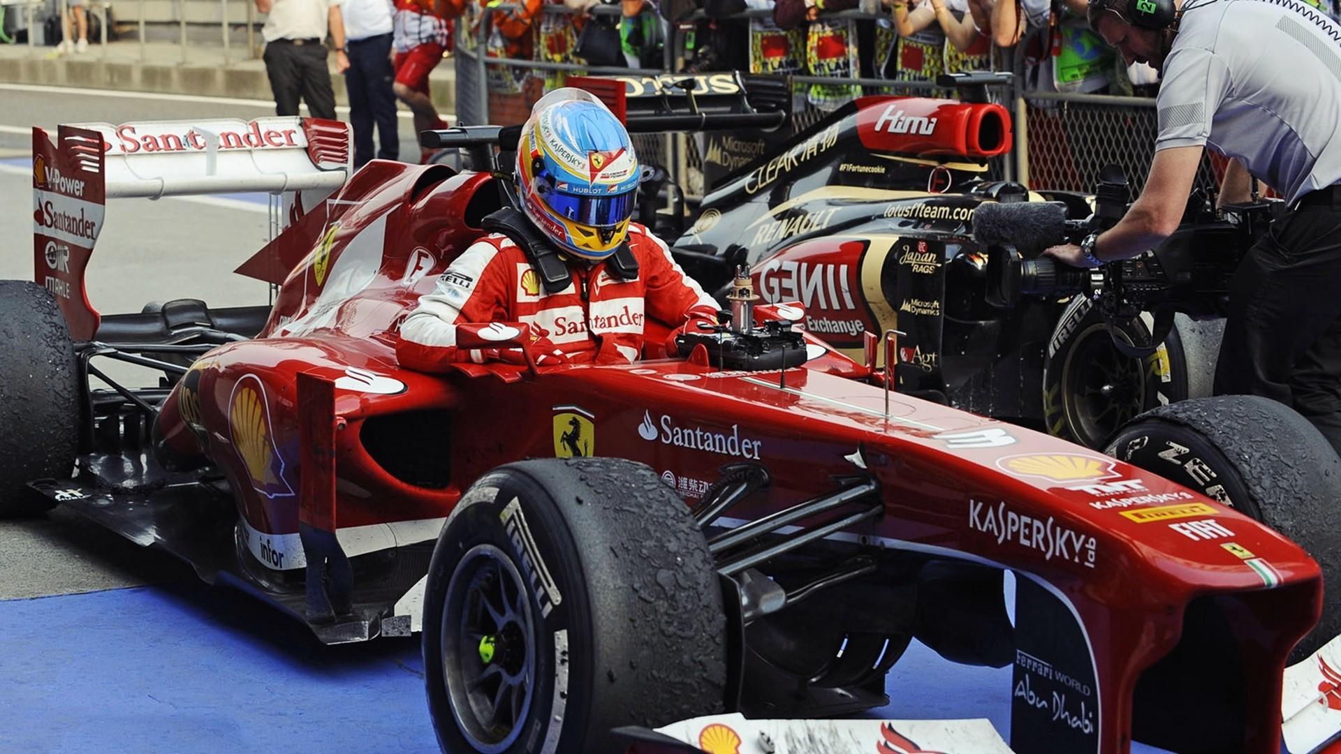 Wallpaper 1920x1080 Px Fernando Alonso Ferrari Formula