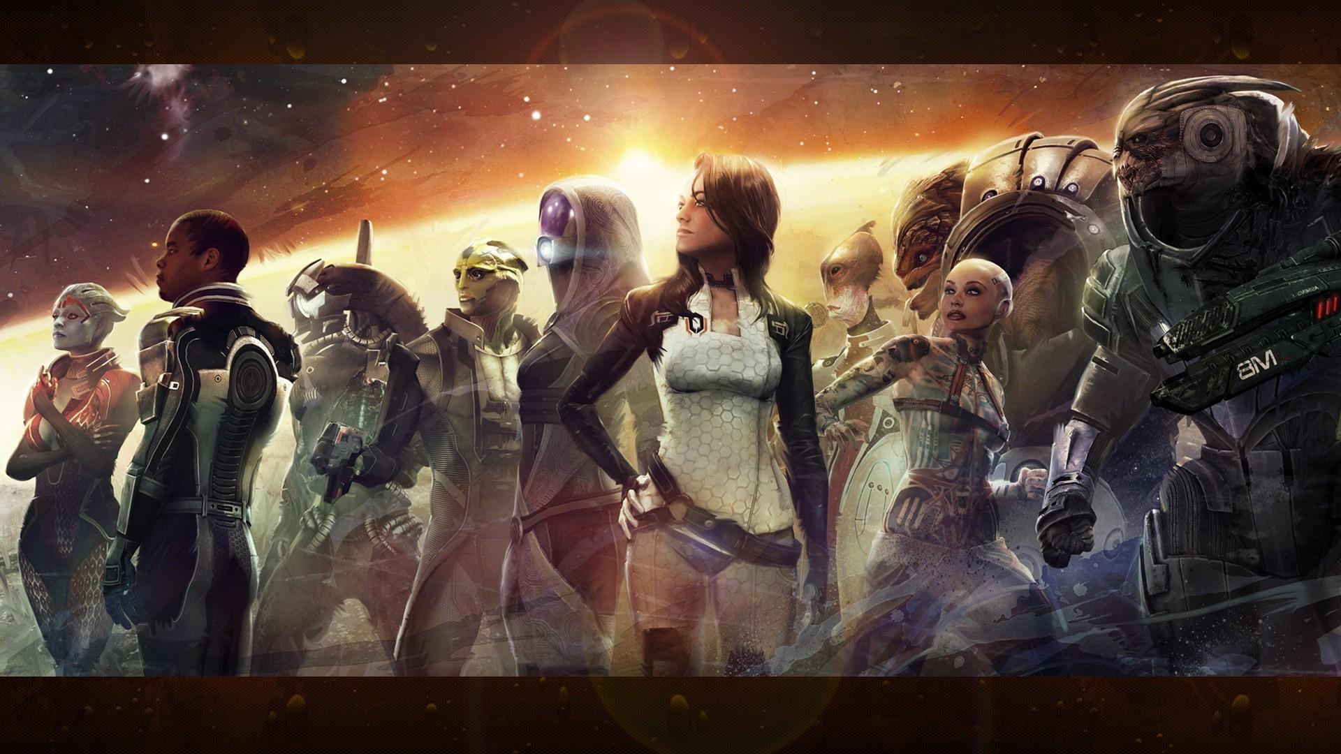 Wallpaper 1920x1080 Px Garrus Vakarian Mass Effect Mass Effect