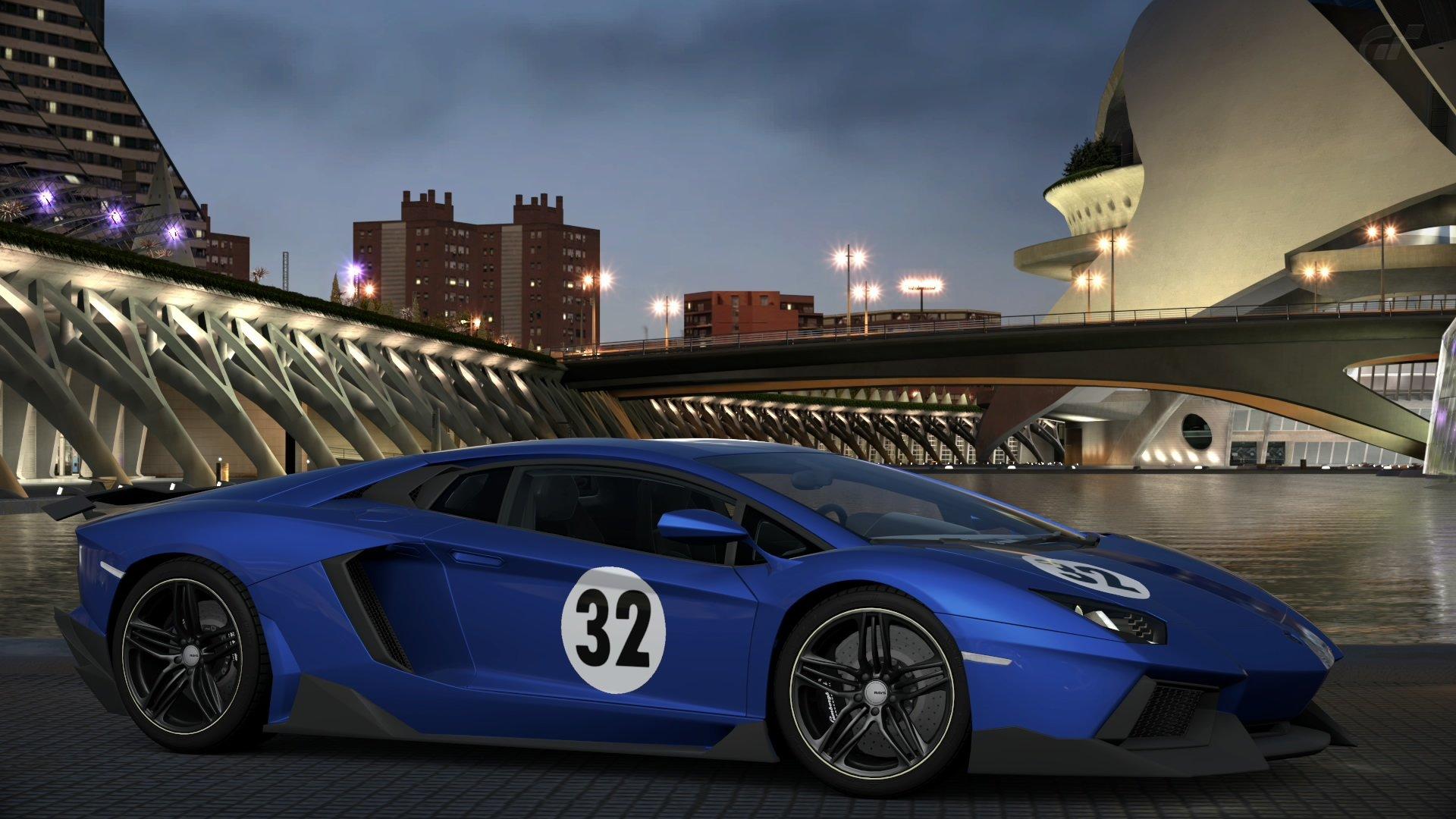 Wallpaper 1920x1080 Px Gran Turismo 6 Lamborghini Aventador