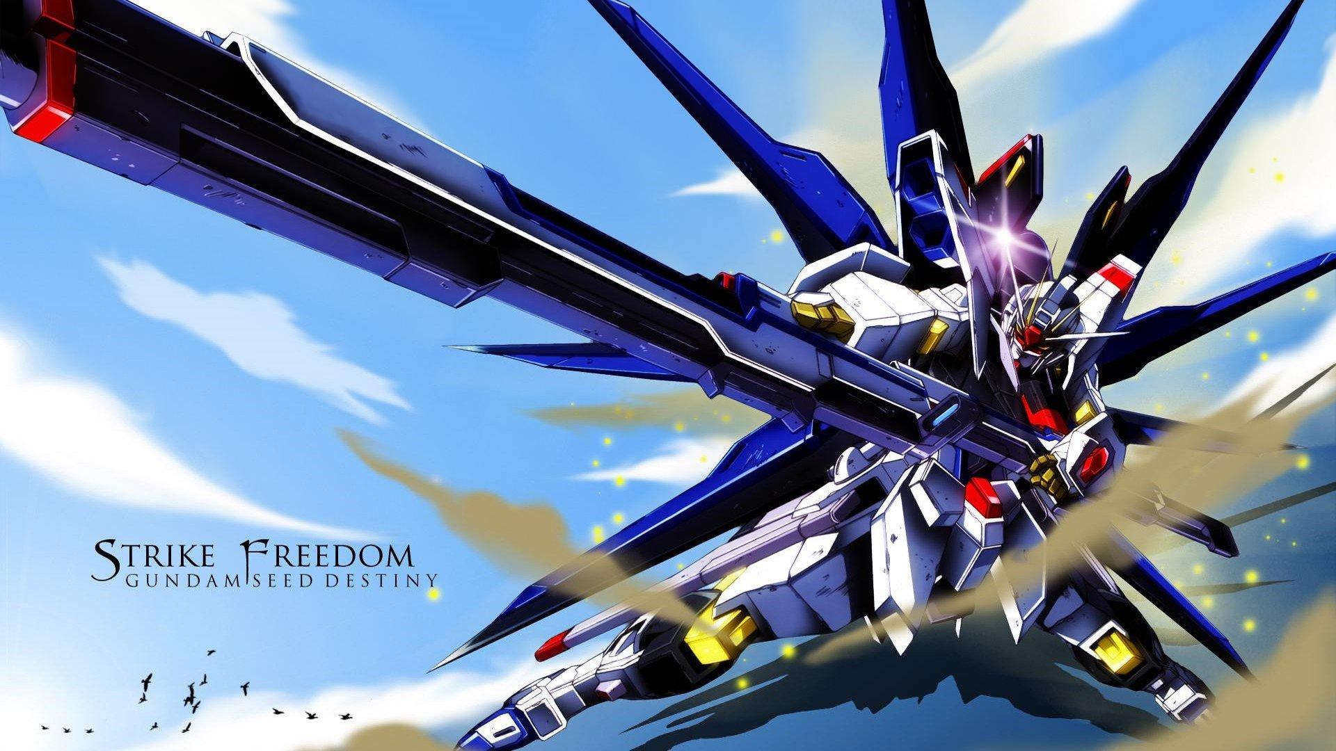 1920x1080 px Gundam Gundam Seed Destiny Striker Freedom Mobile Suit Gundam  SEED Mobile Suit Gundam SEED