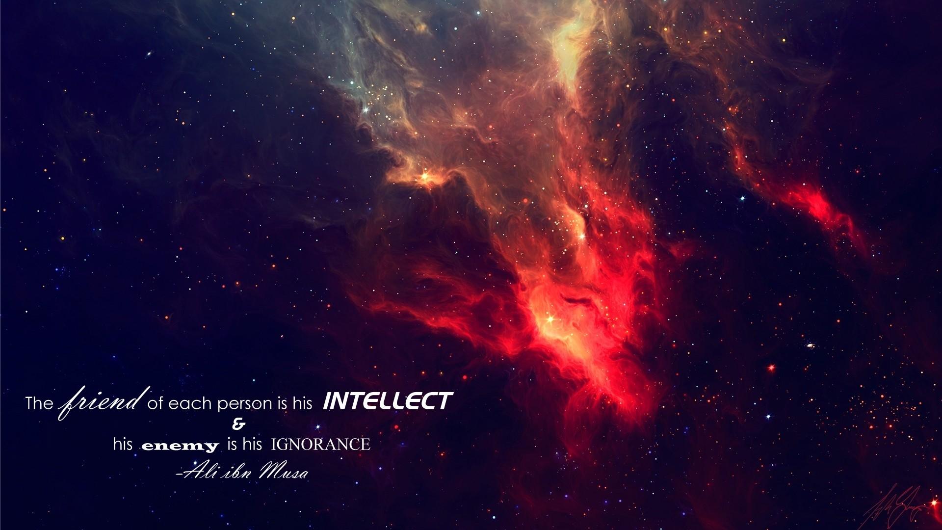 1920x1080 px Imam Islam quote space stars 660158