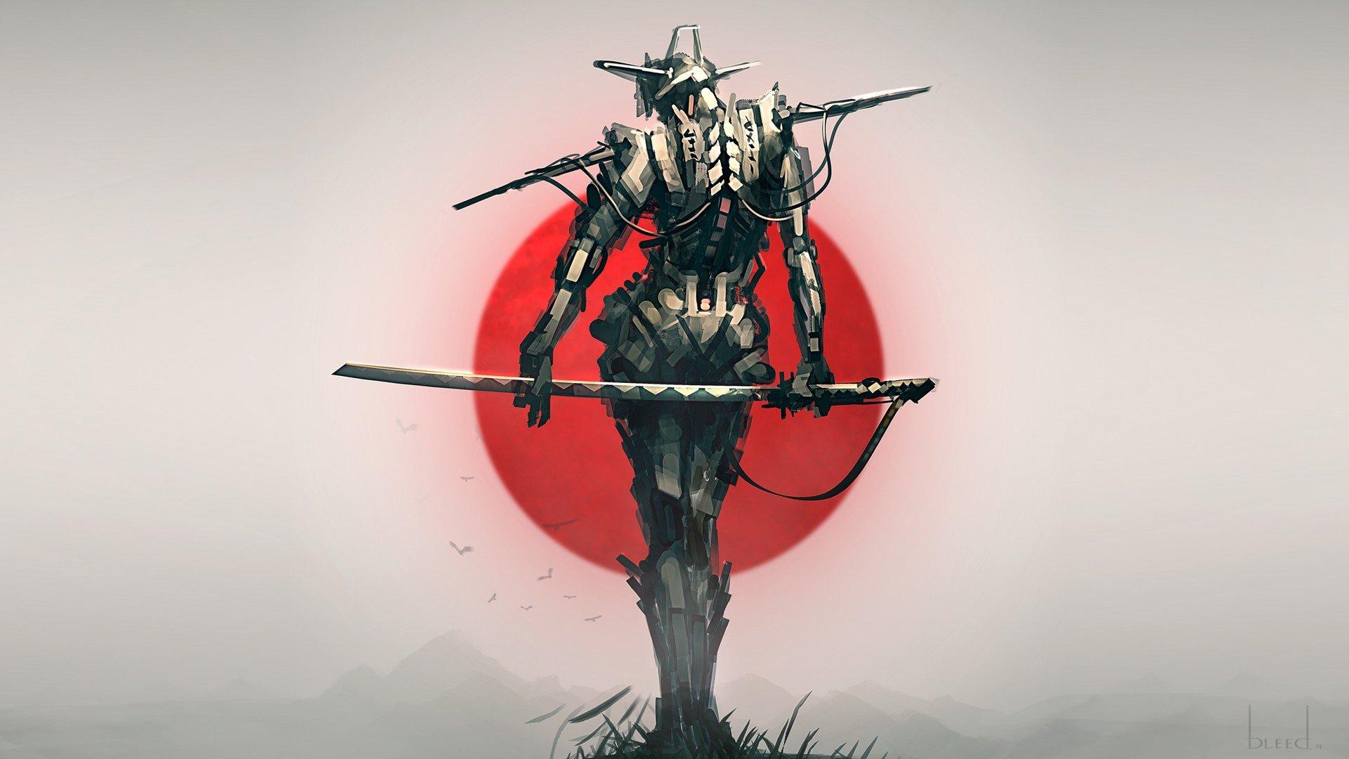 лучшие картинки самураев на телефон мясом получается густым