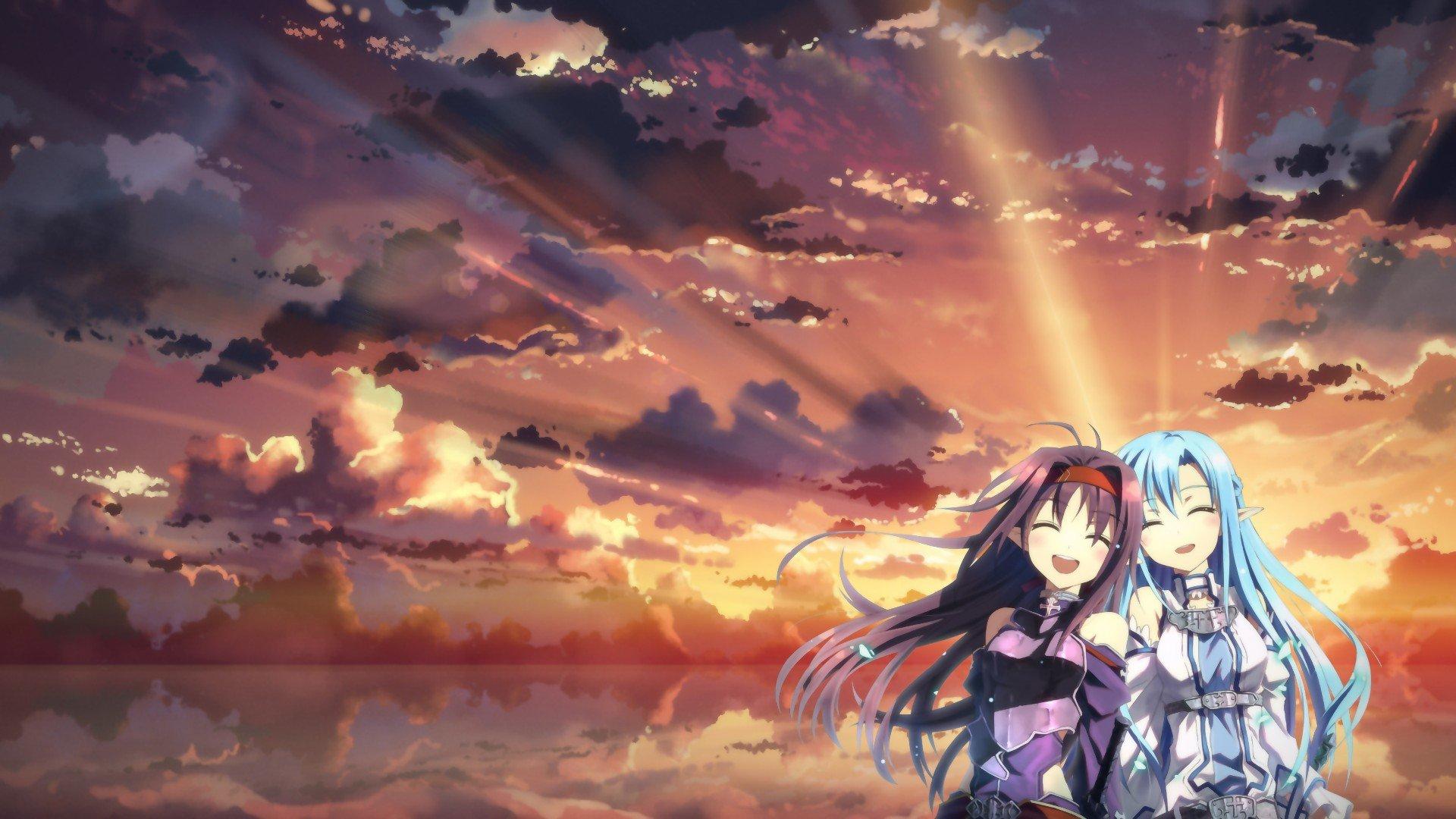 Wallpaper 1920x1080 Px Konno Yuuki Sword Art Online Yuuki
