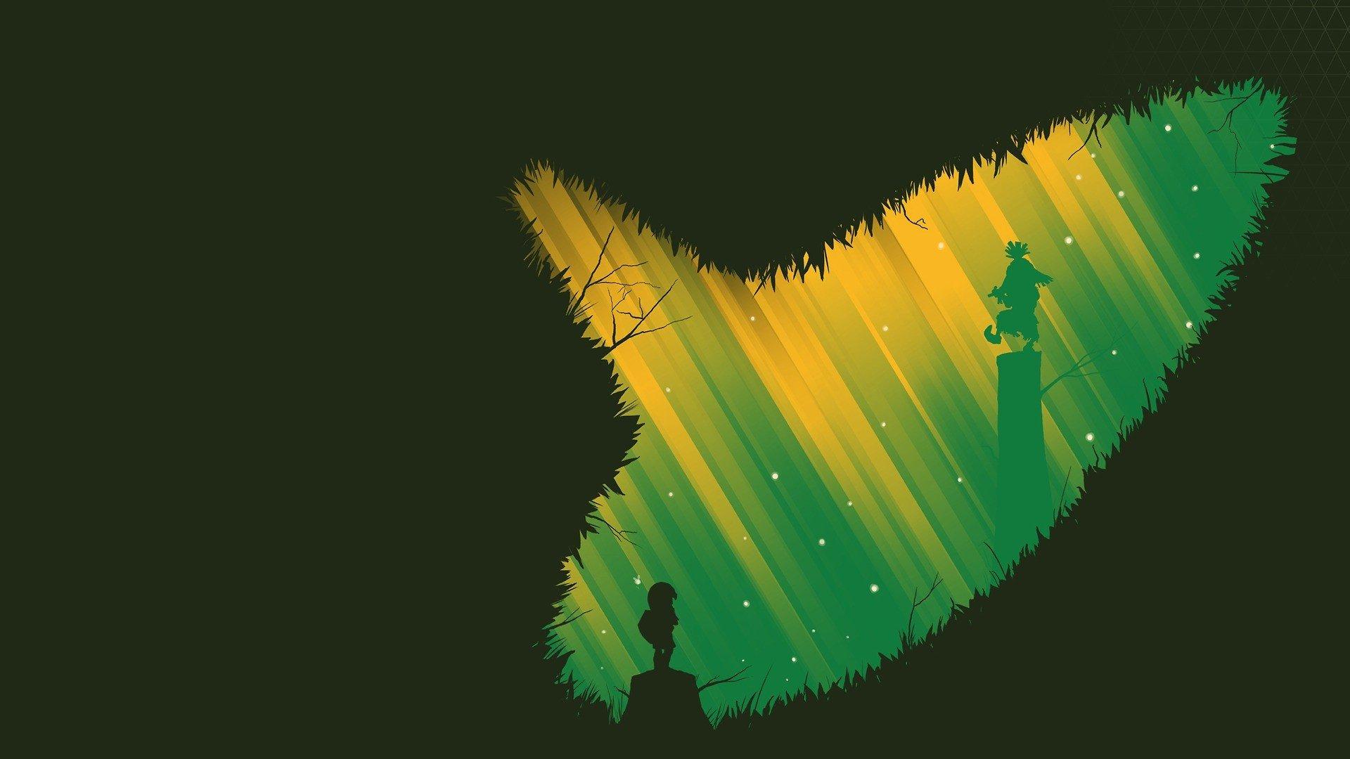 Wallpaper 1920x1080 Px Link Minimalism The Legend Of Zelda
