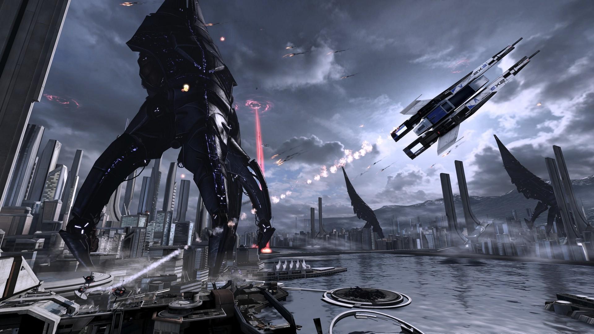 1920x1080 px Mass Effect Mass Effect 2 Mass Effect 3 Reapers