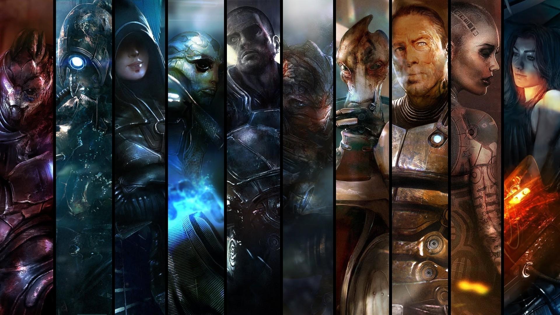 Wallpaper 1920x1080 Px Mass Effect Mass Effect 2 Video Games