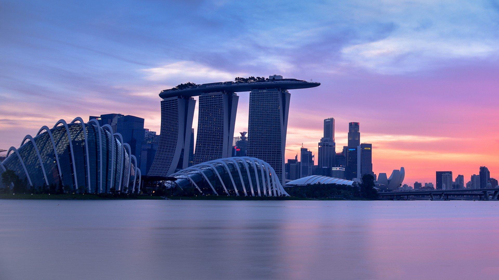 красивые фото на фоне сингапура получается