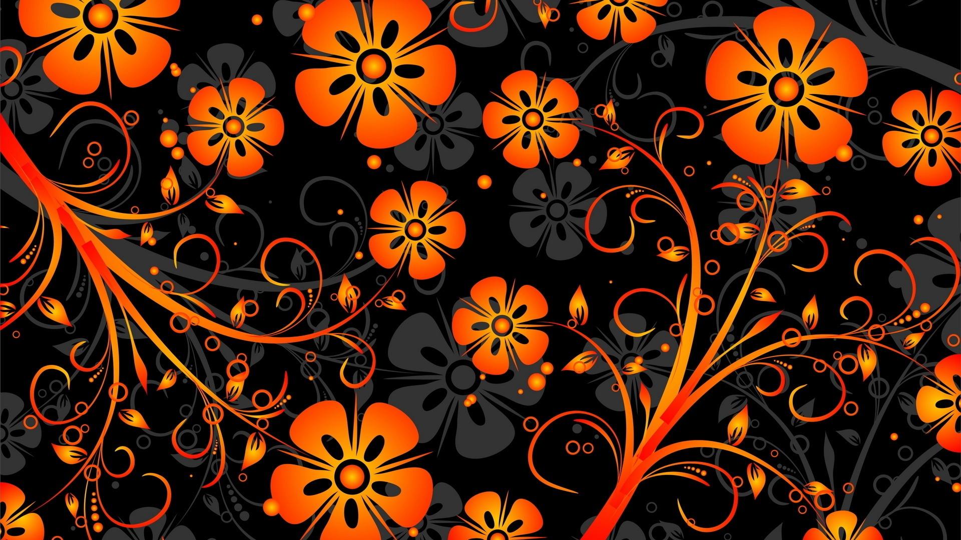 Fondos De Pantalla 1920x1080 Px Abstracto Flores