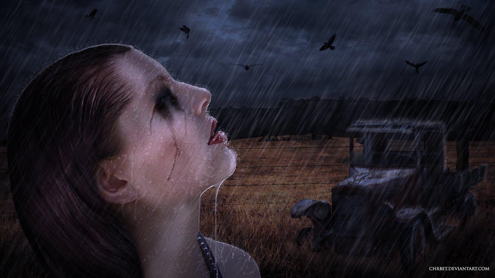 картинки на ночь глядя со слезами бог
