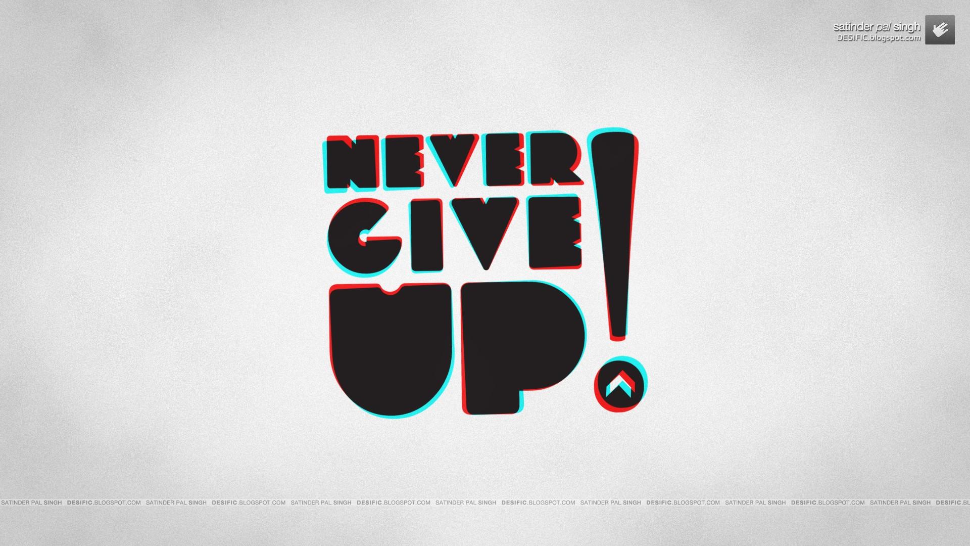 Wallpaper 1920x1080 Px Anaglyph 3d Motivational Never