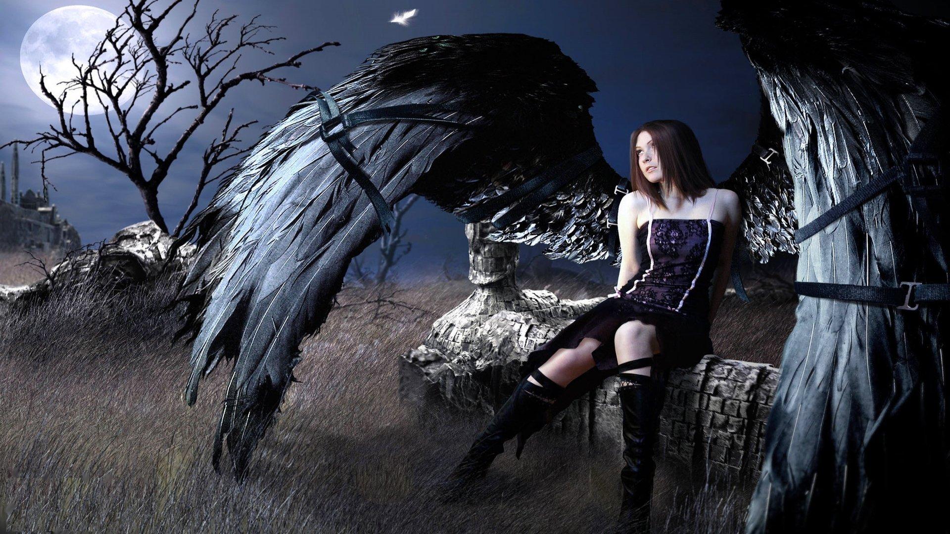 силу черный ангел мистика картинки этом, аккуратного реза