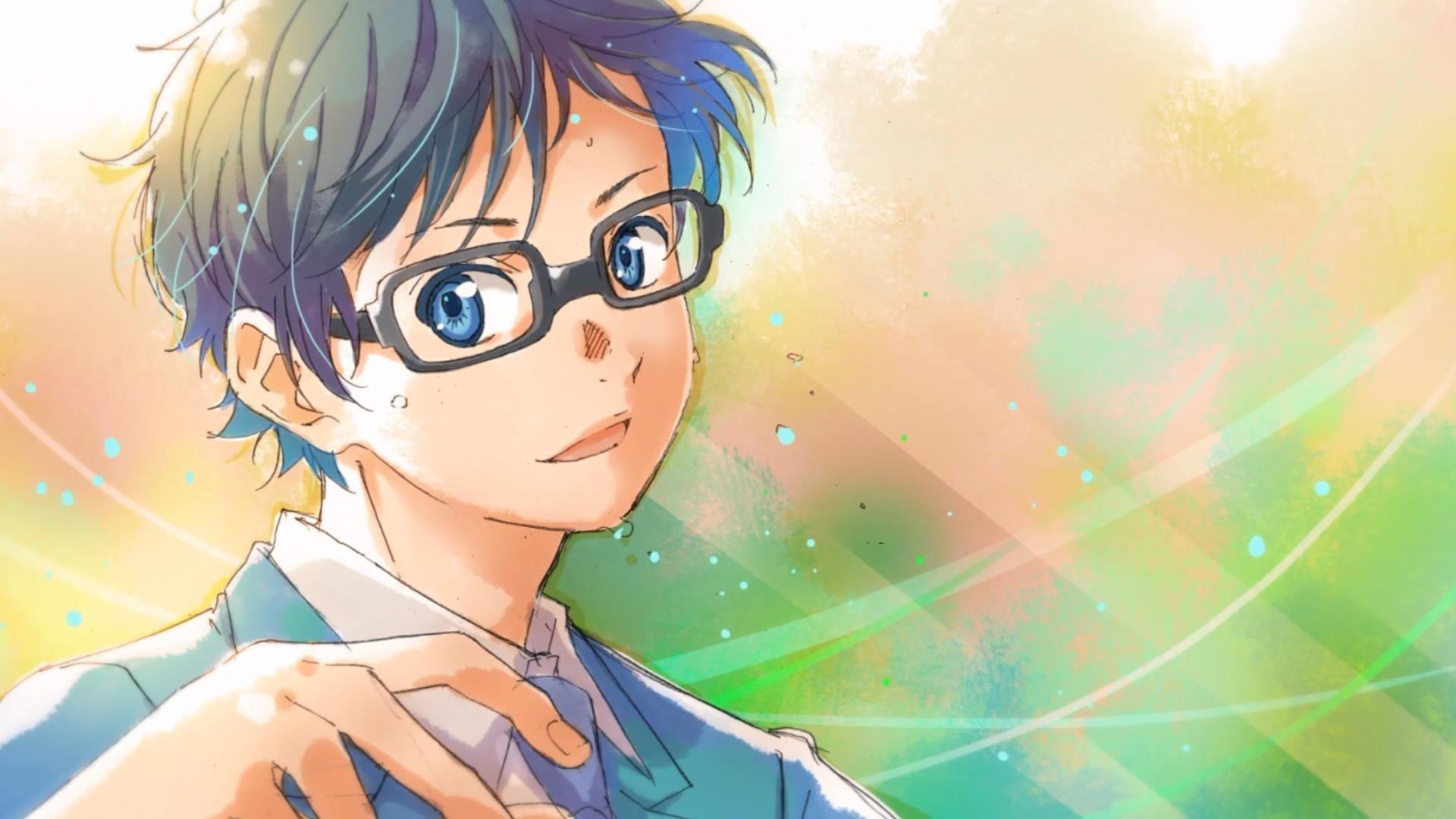 Wallpaper 1920x1080 Px Anime Arima Kousei Glasses