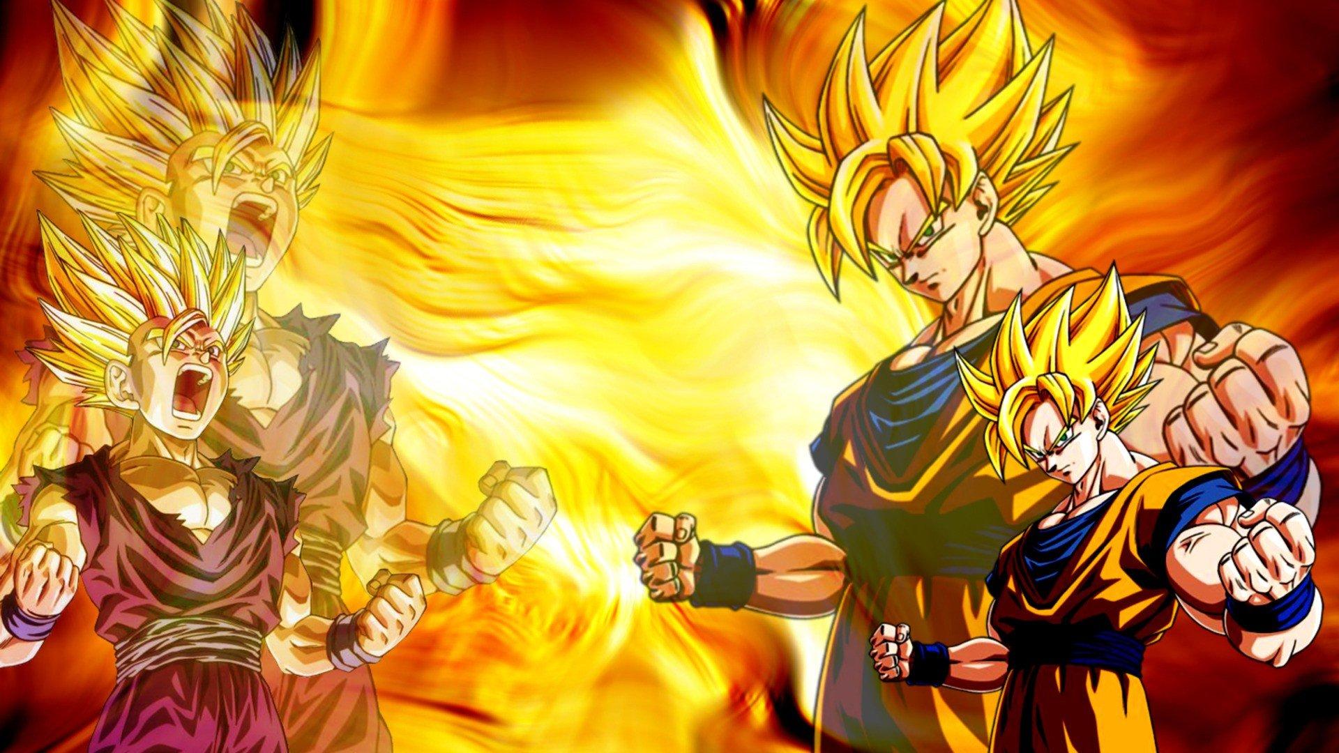 Wallpaper 1920x1080 Px Anime Dragon Ball Z Son Goku 1920x1080